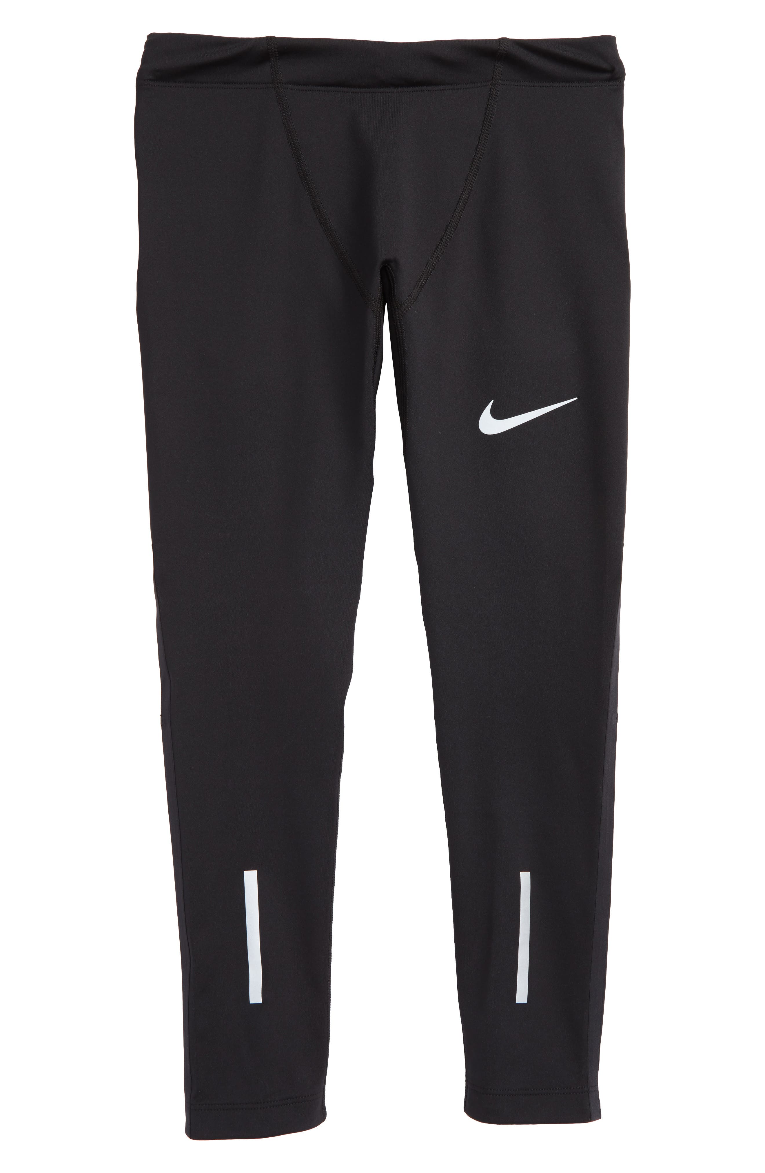 Alternate Image 1 Selected - Nike Power Dry Running Tights (Little Boys & Big Boys)