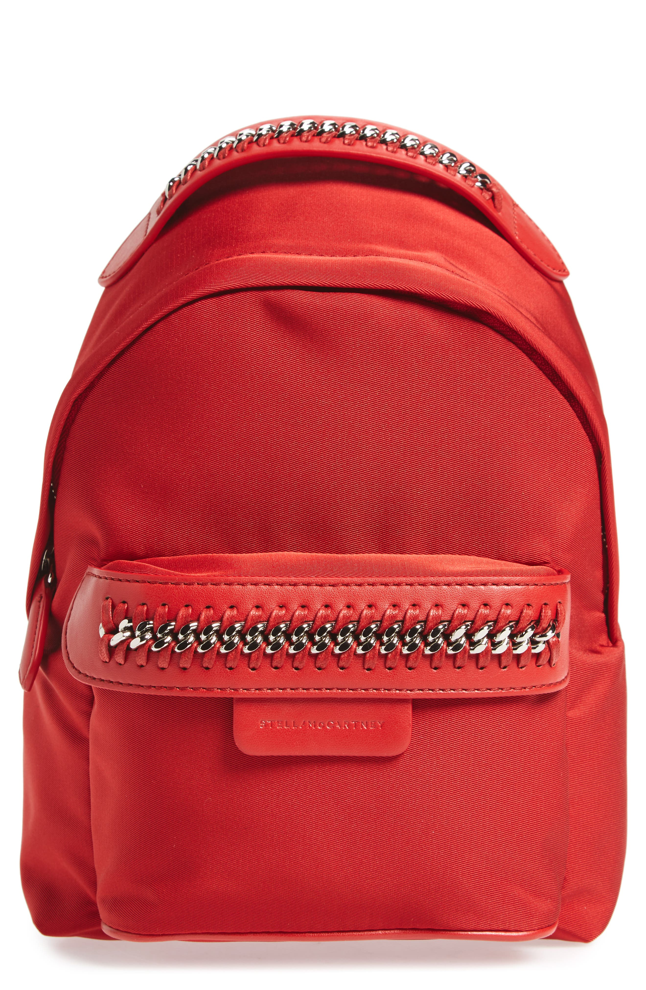 Stella McCartney Mini Falabella Nylon Backpack