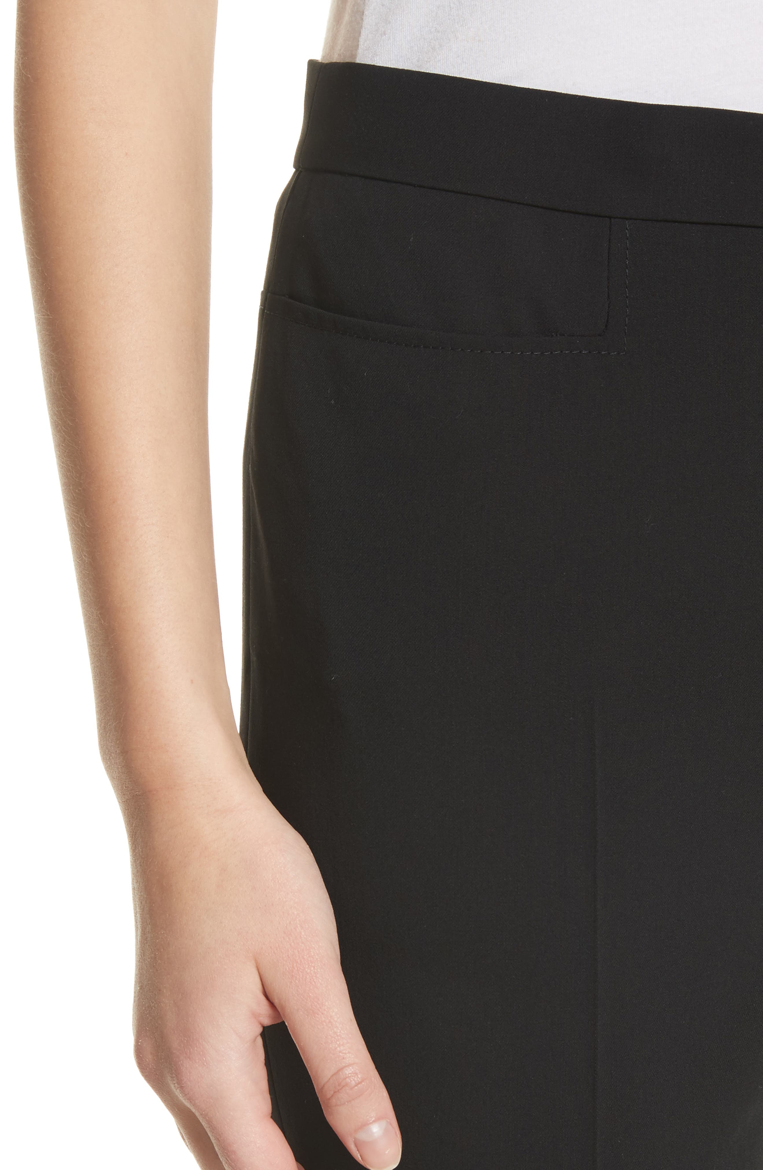 Alternate Image 4  - Akris punto Francoise Wool Straight Leg Pants