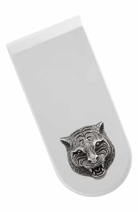 Gucci Cat Insignia Money Clip