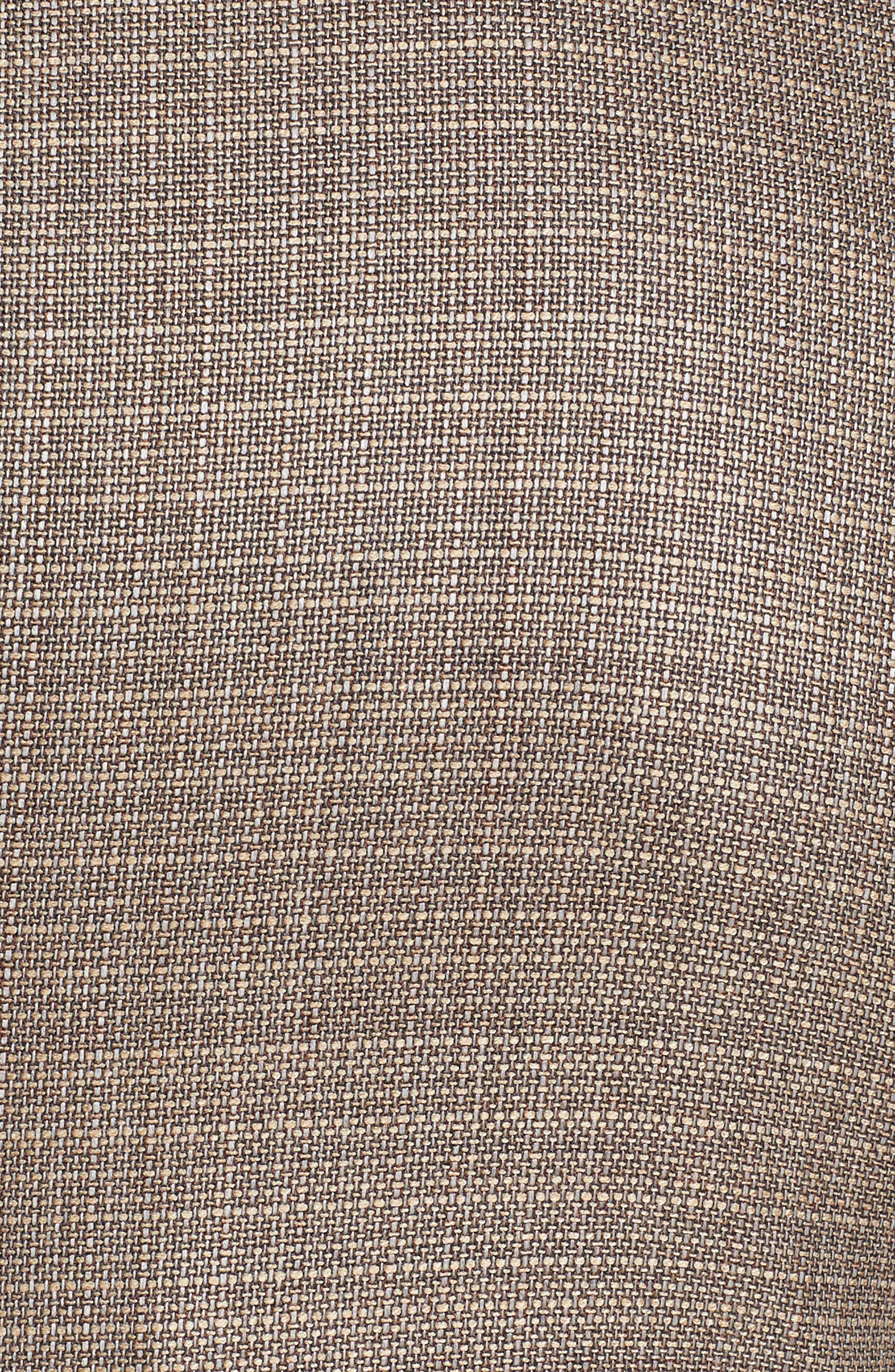 Trim Fit Wool Blazer,                             Alternate thumbnail 5, color,                             Khaki