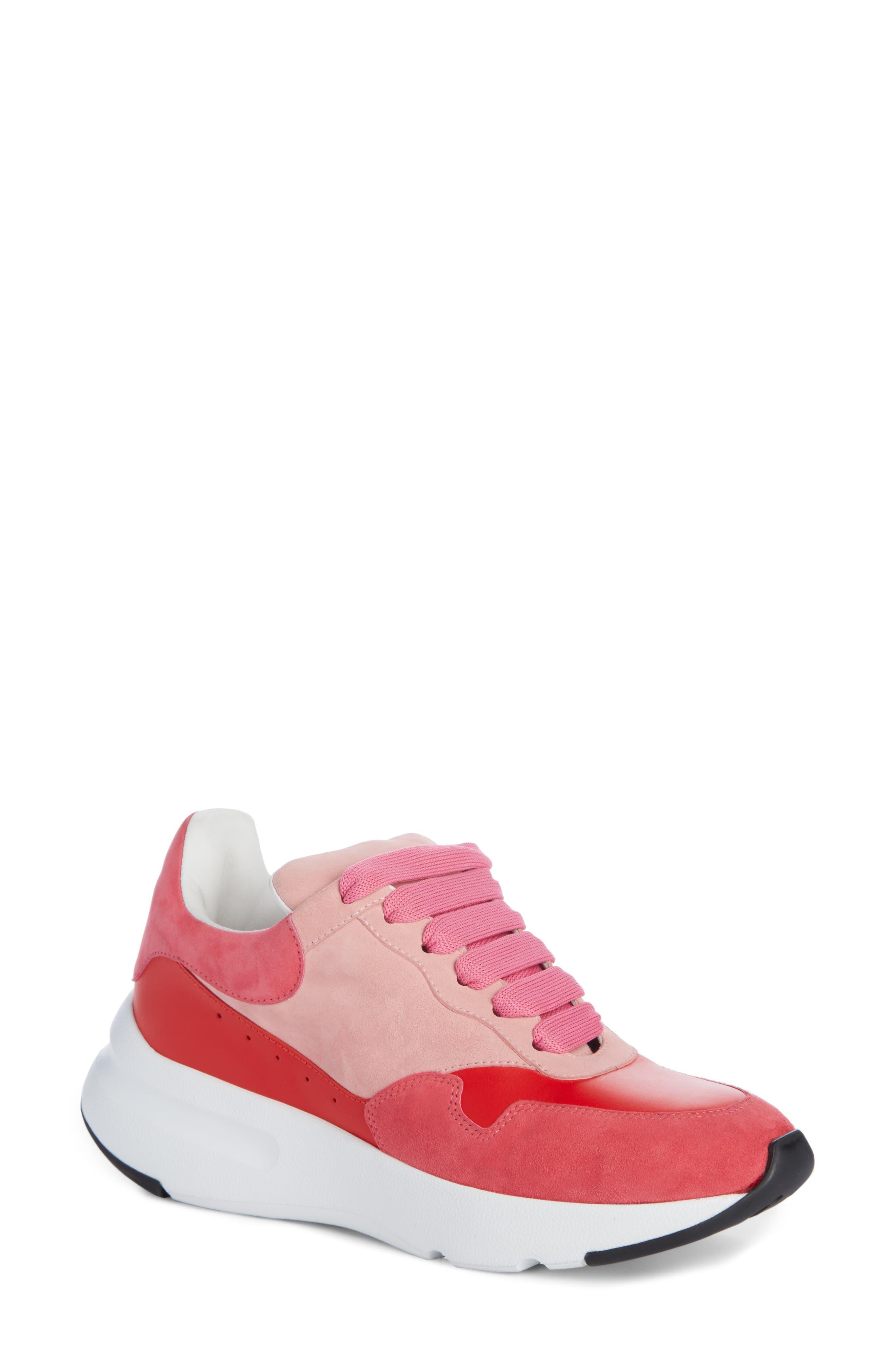 Main Image - Alexander McQueen Runner Lace-Up Sneaker (Women)