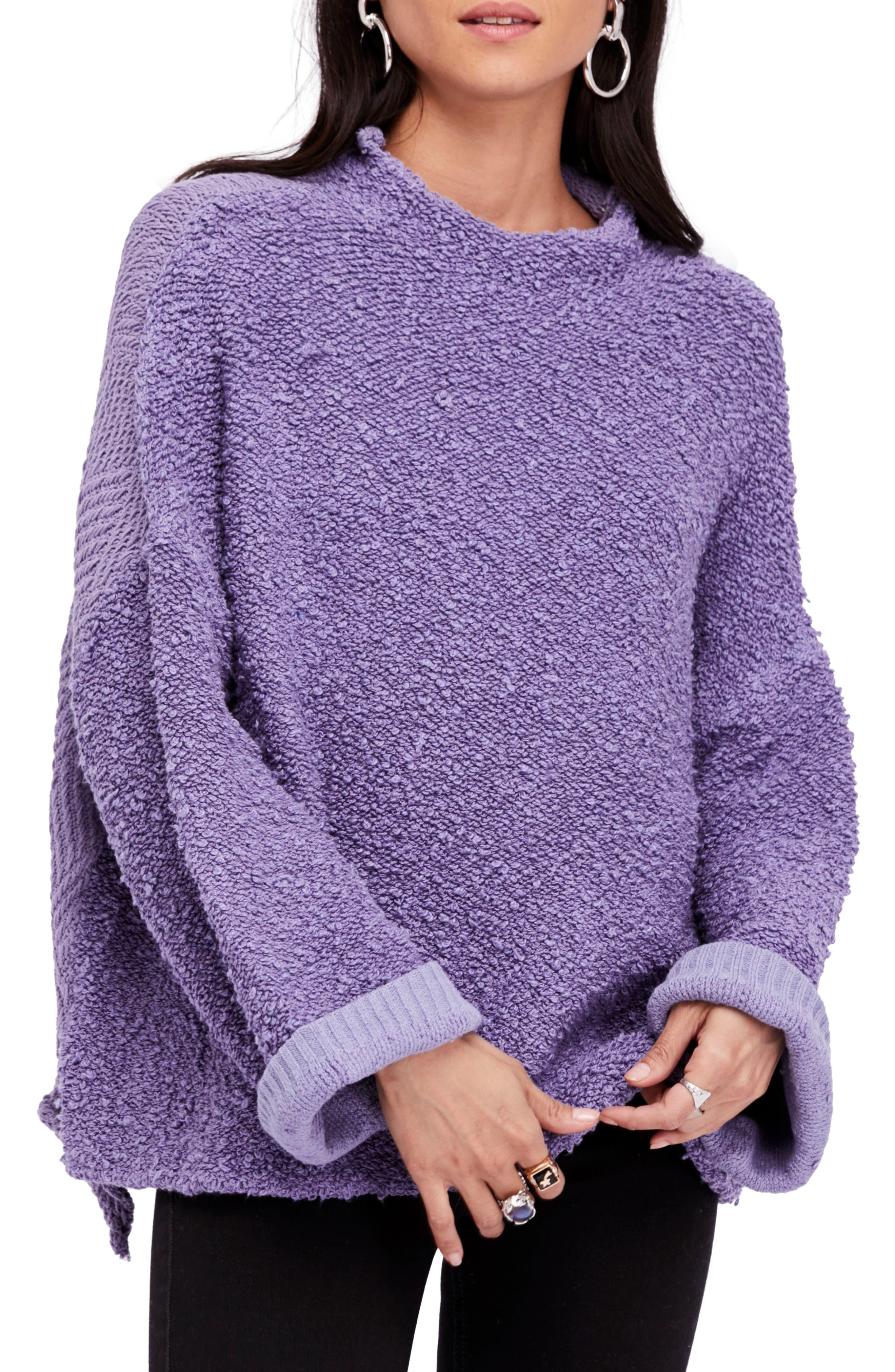 Cuddle Up Pullover,                         Main,                         color, Light Purple