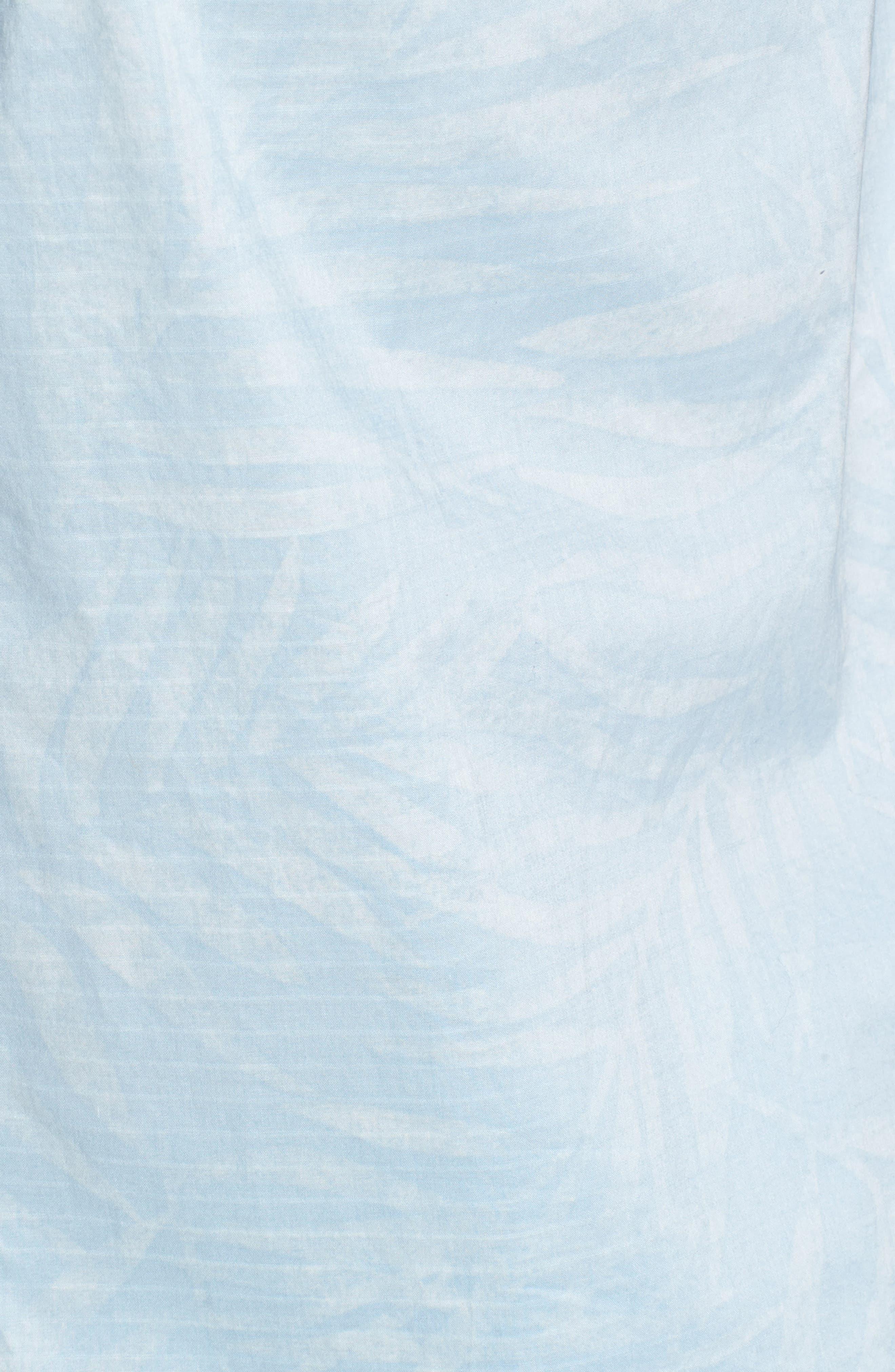 Vero Fronds Sport Shirt,                             Alternate thumbnail 5, color,                             Opal