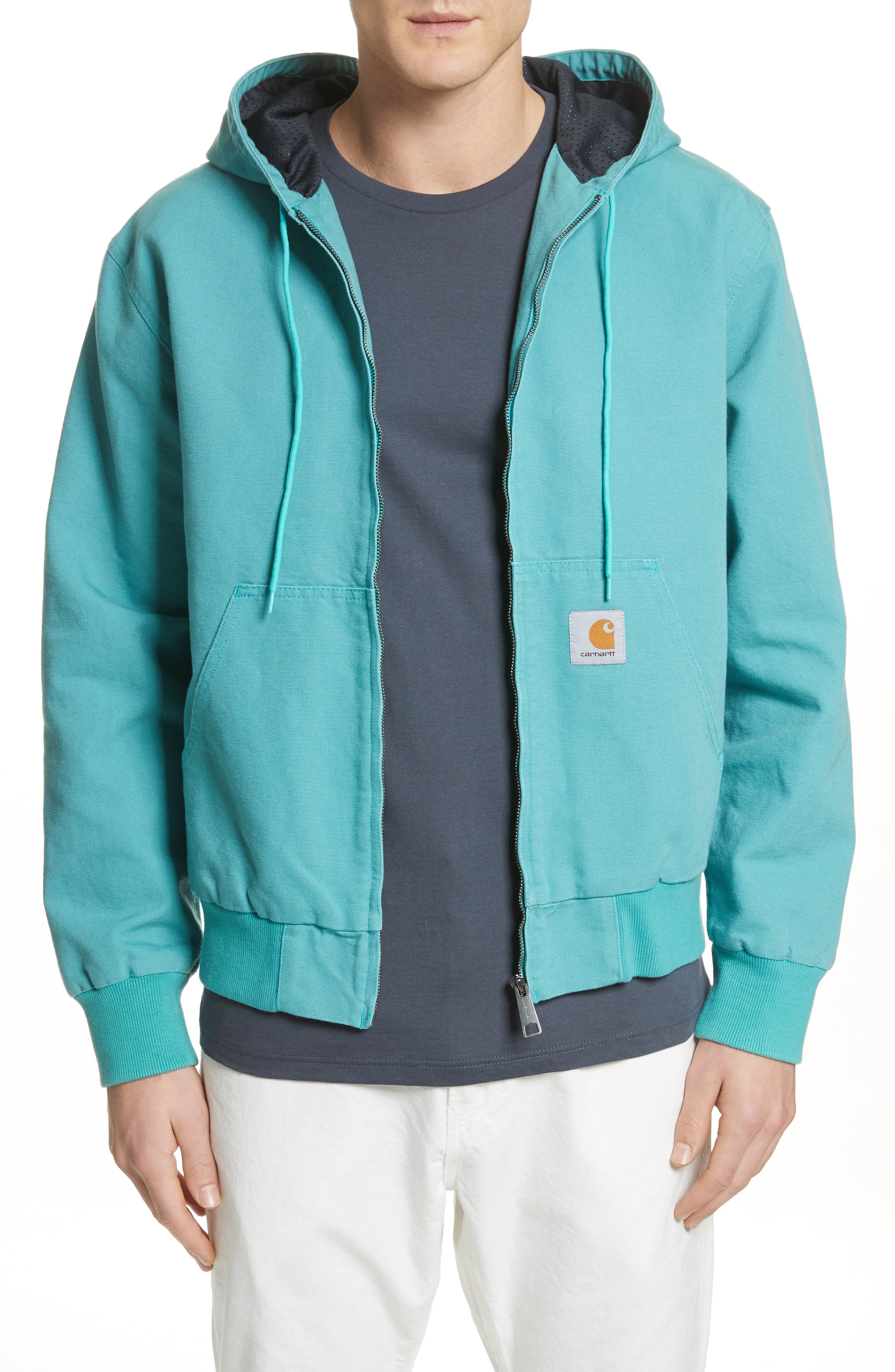 Active Jacket,                         Main,                         color, Soft Teal
