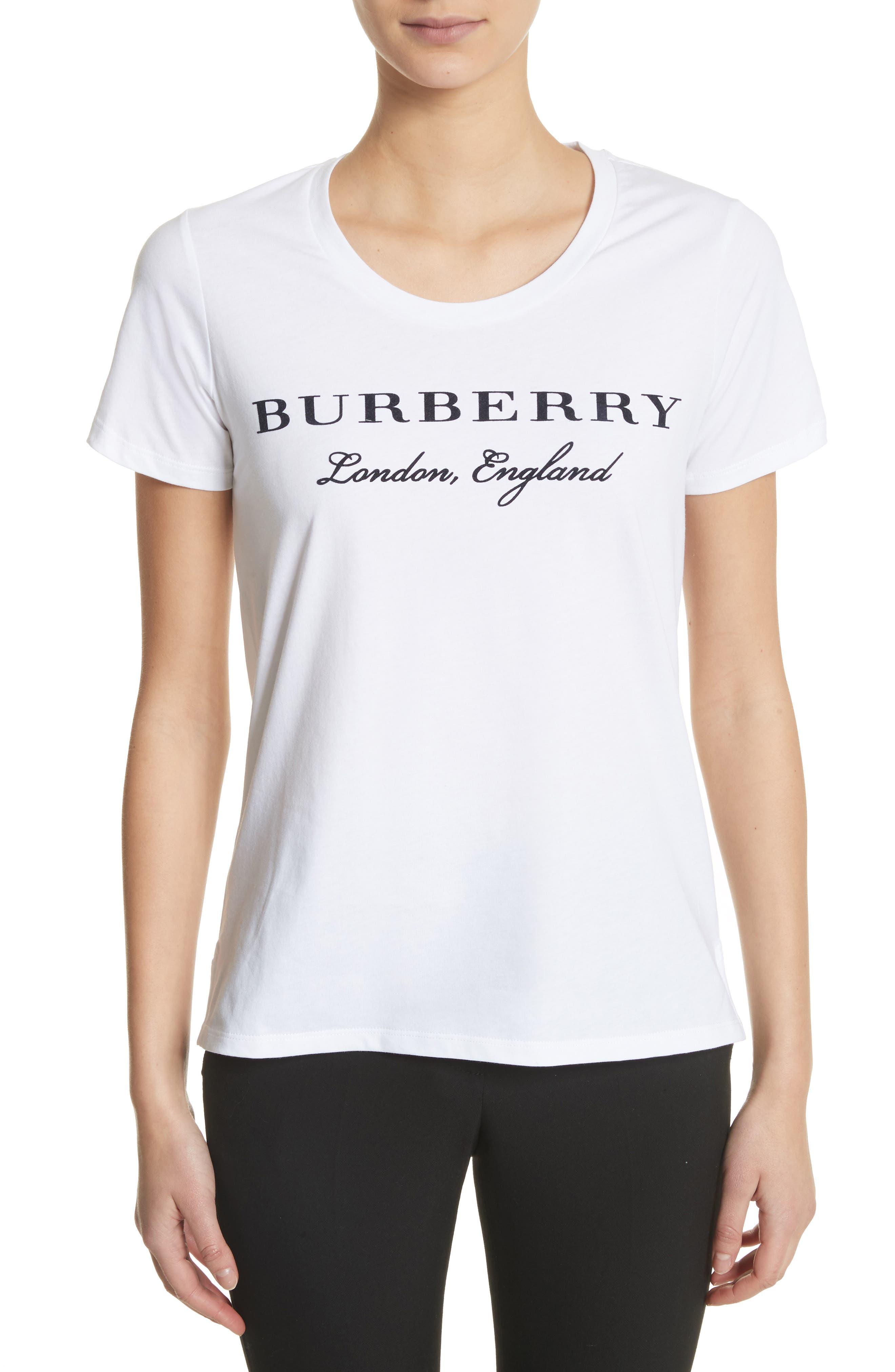 Alternate Image 1 Selected - Burberry Mera Tee
