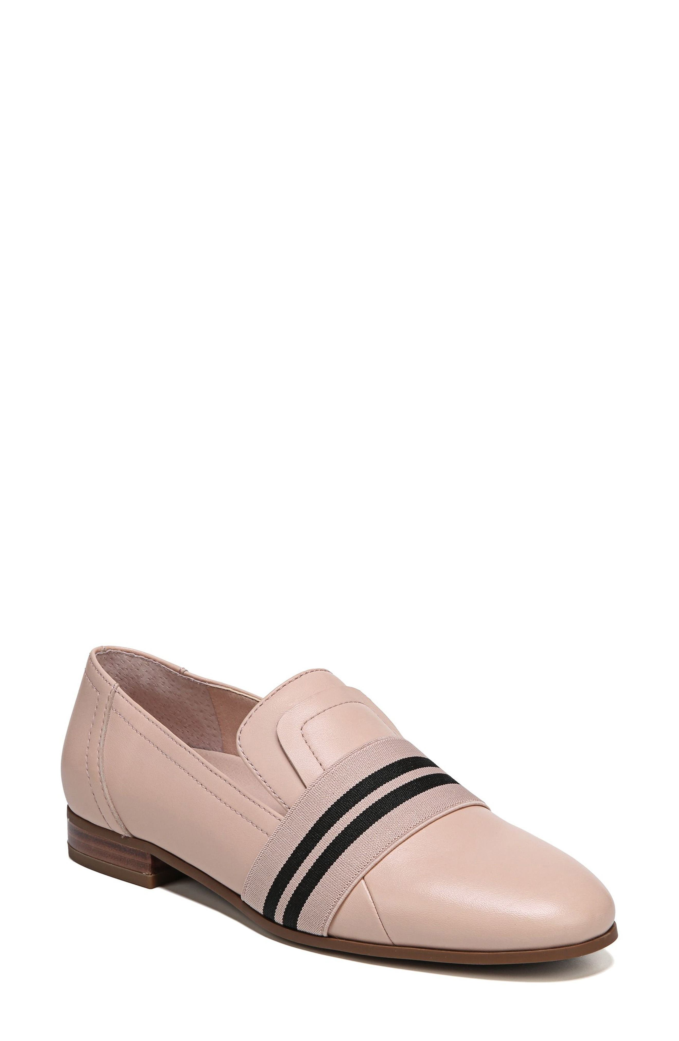 Odyssey Loafer,                             Main thumbnail 1, color,                             Blush Leather
