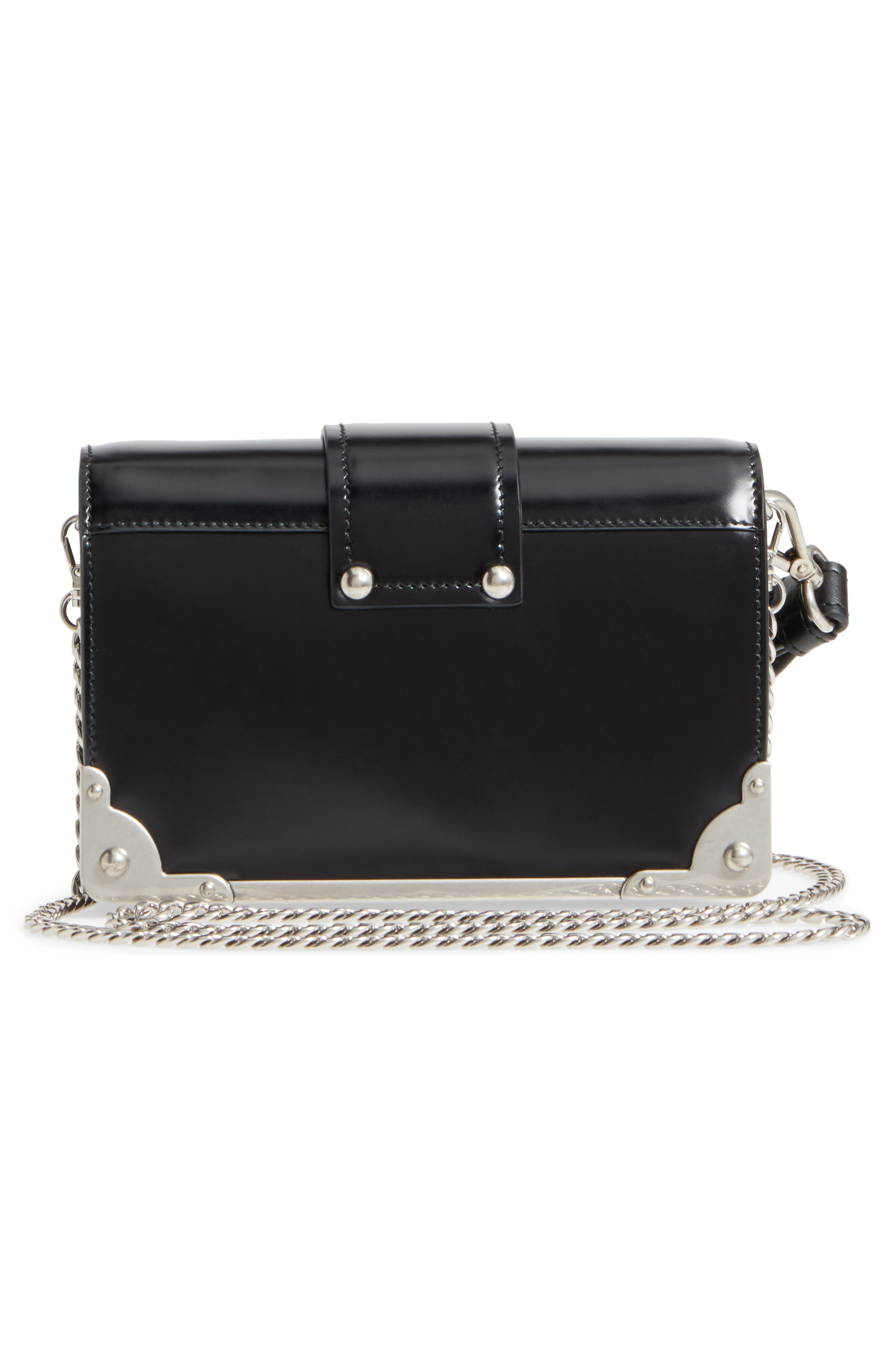 Alternate Image 3  - Prada Small Cahier Leather Shoulder Bag