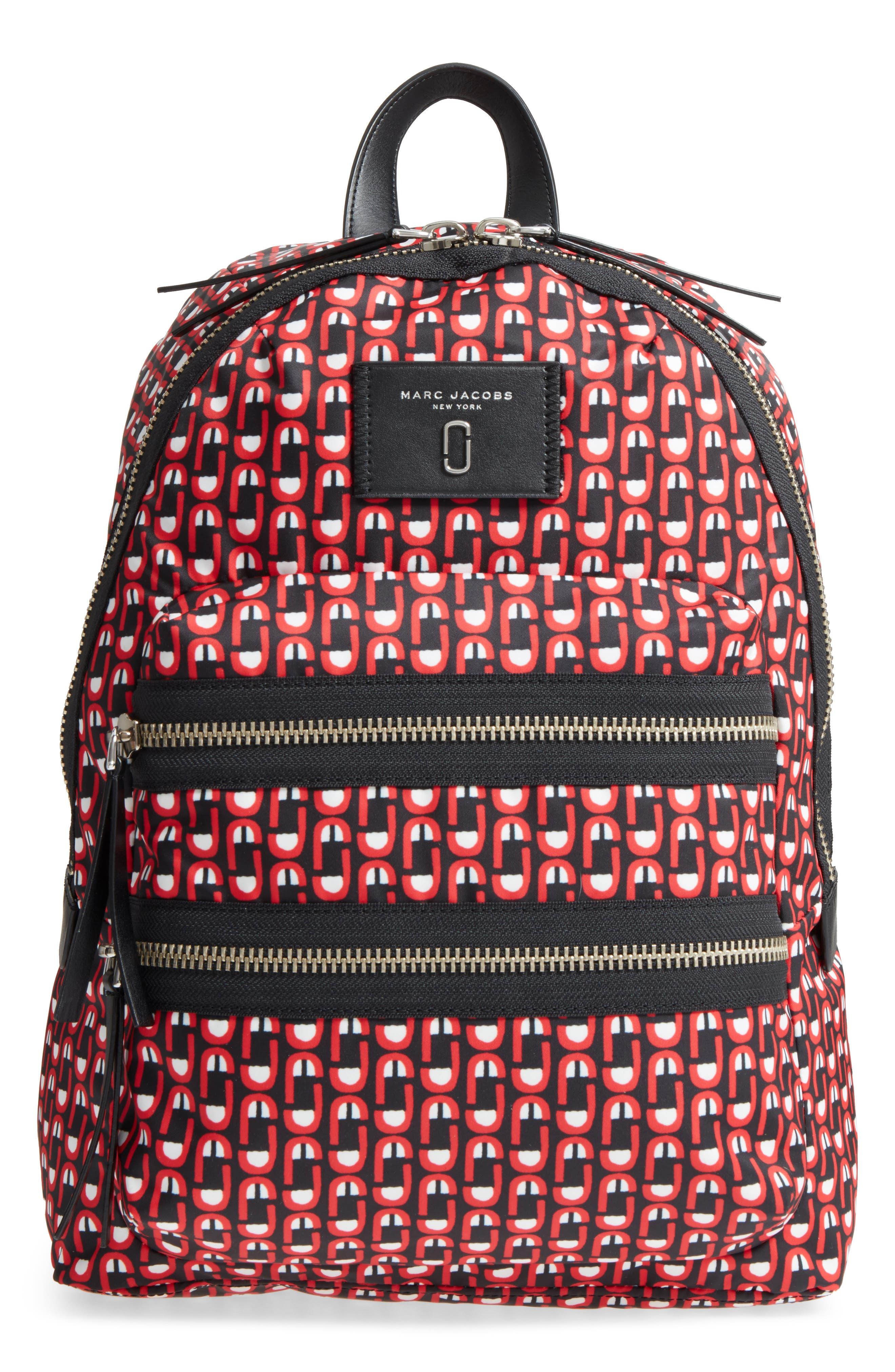 Main Image - MARC JACOBS Logo Scream Biker Backpack