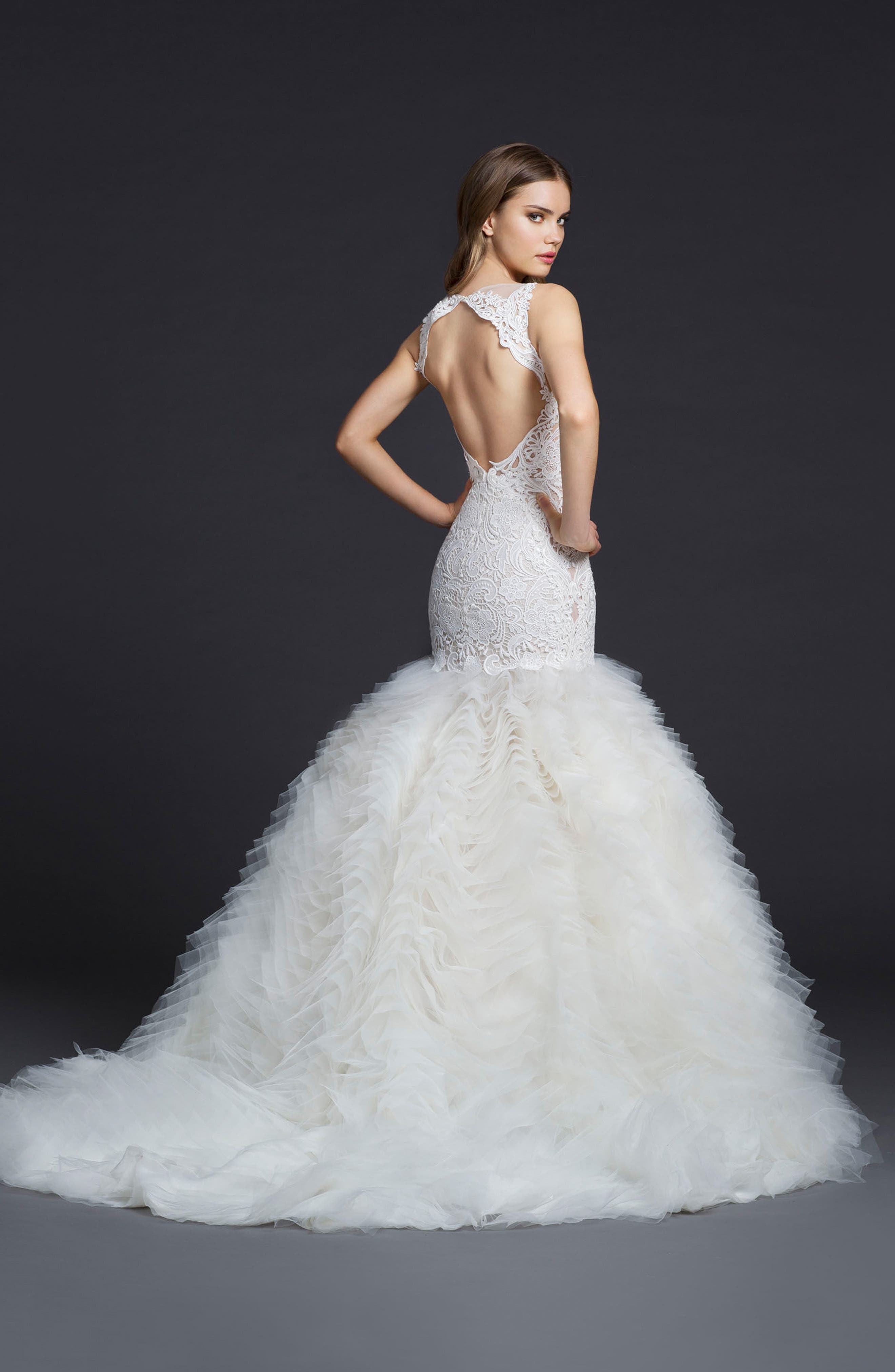 Mermaid Style Wedding Dresses with Sleeves