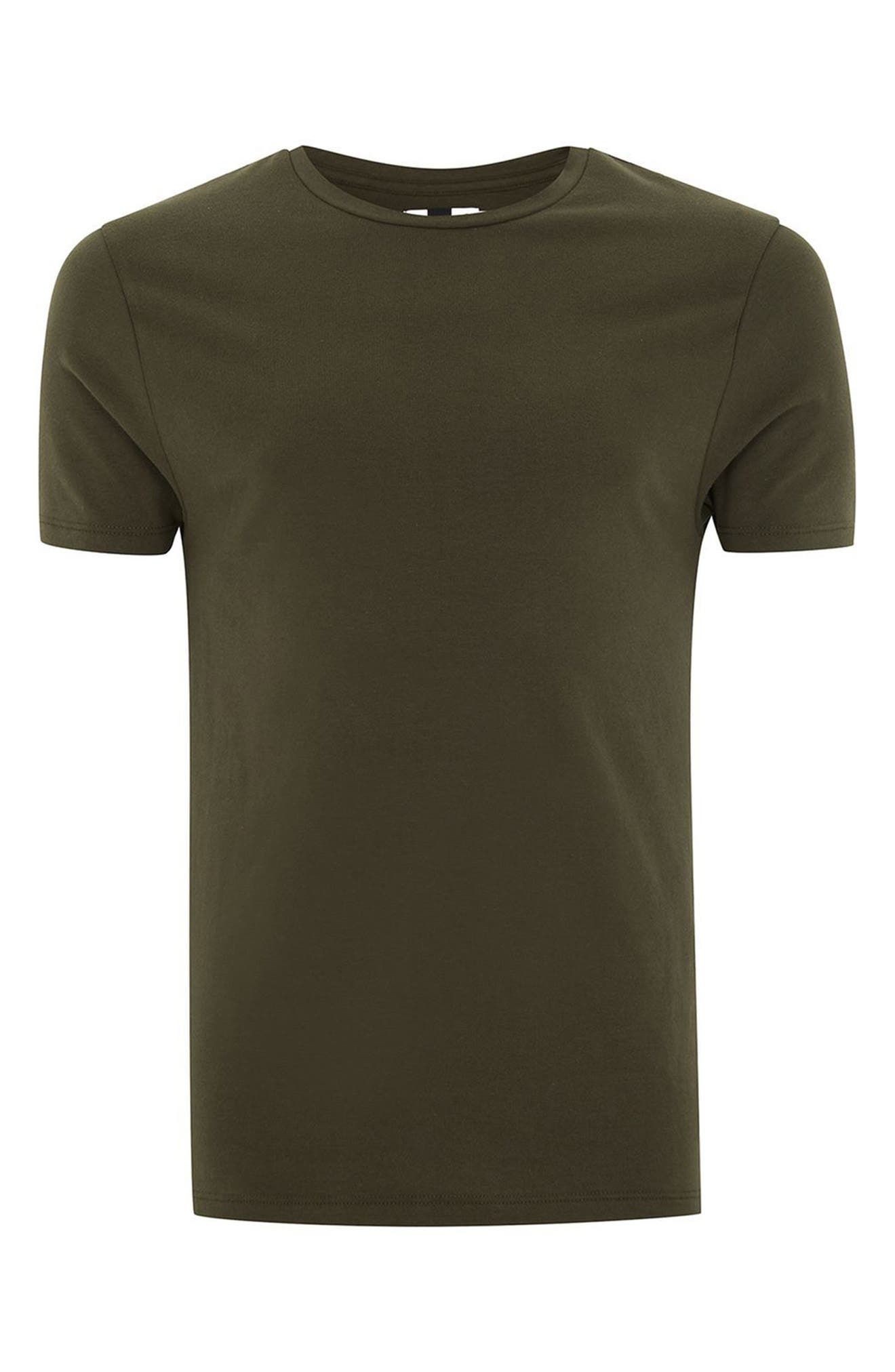 Ultra Muscle Fit T-Shirt,                             Alternate thumbnail 4, color,                             Olive
