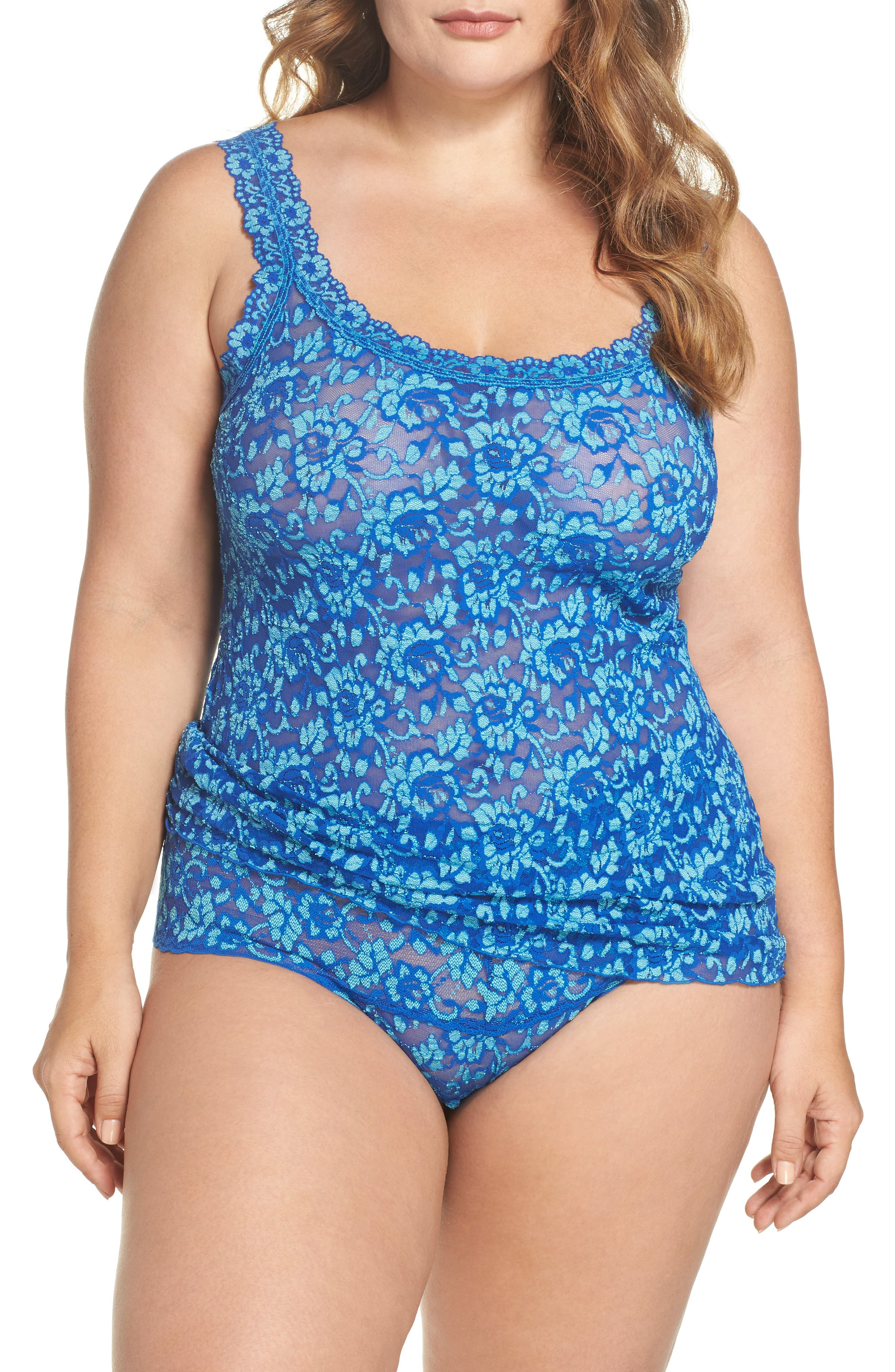 Alternate Image 5  - Hanky Panky Lace Camisole (Plus Size)