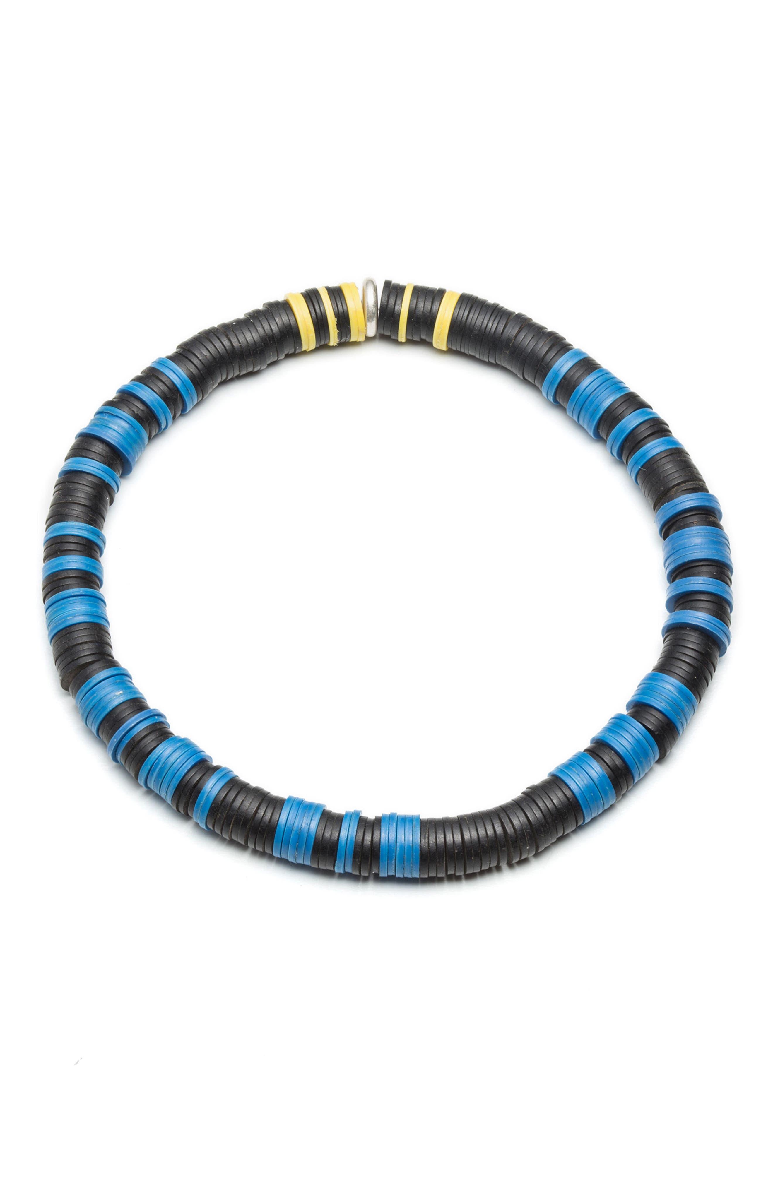 Victory II Morse Bracelet,                         Main,                         color, Blue