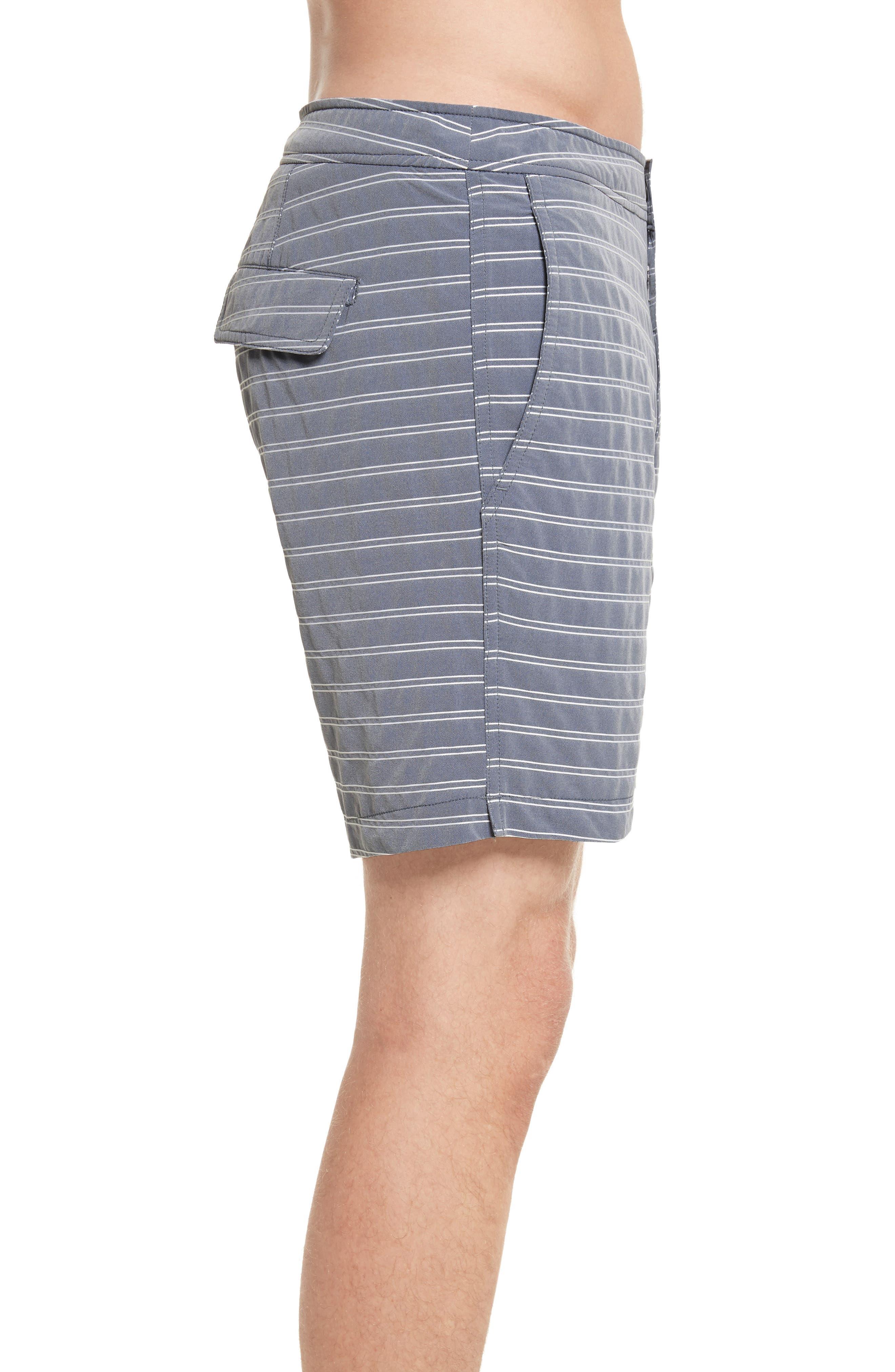 Alternate Image 3  - ONIA Calder Stripe Board Shorts