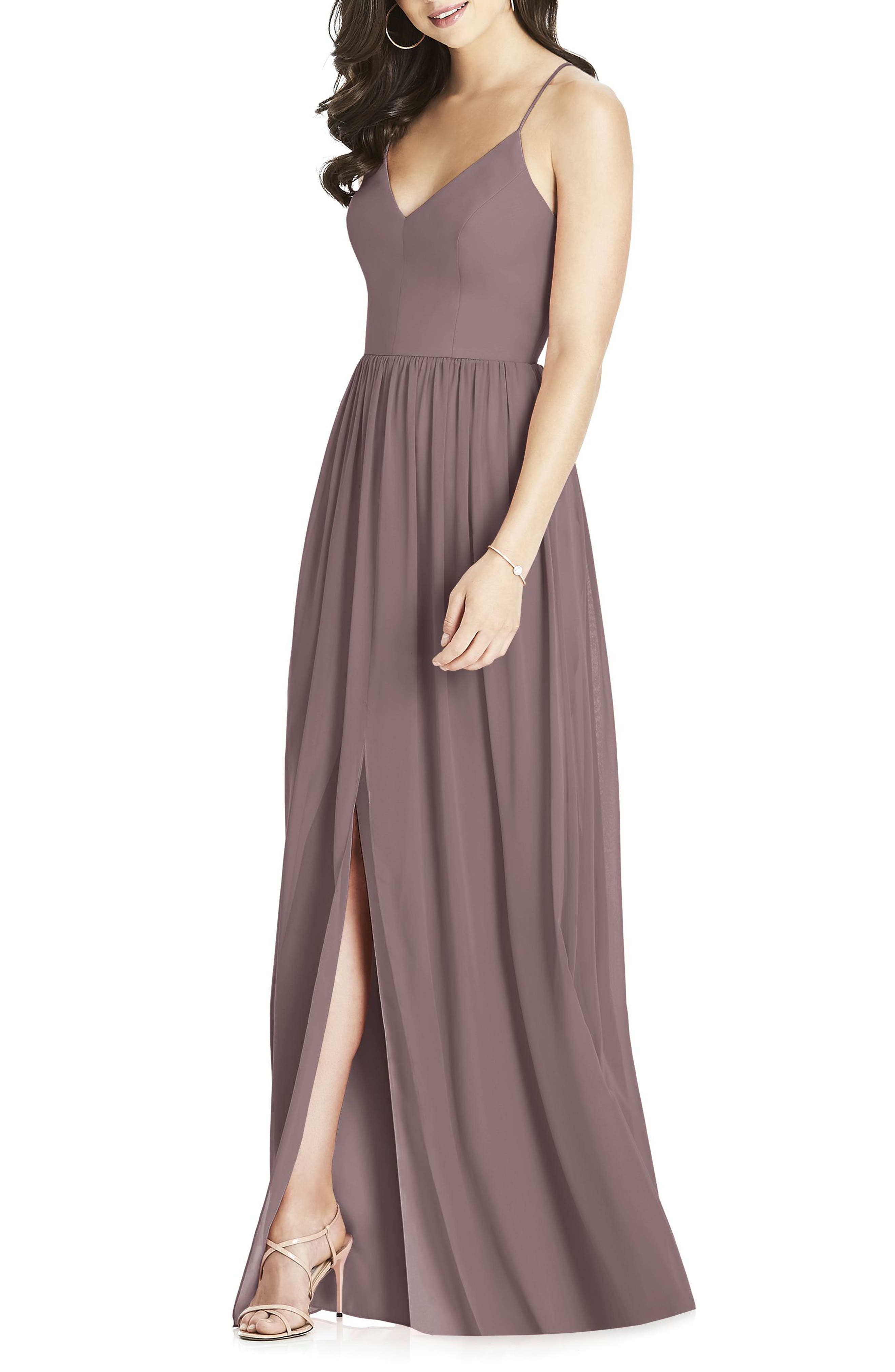 Brown bridesmaid wedding party dresses nordstrom ombrellifo Image collections