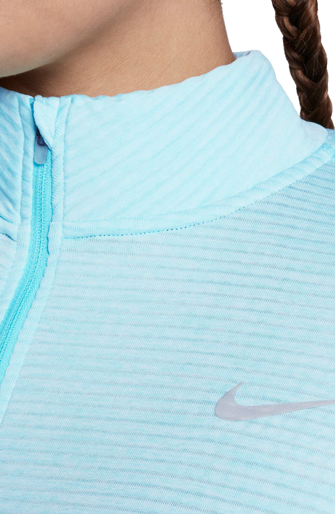 Alternate Image 4  - Nike Sphere Element Long Sleeve Running Top (Plus Size)
