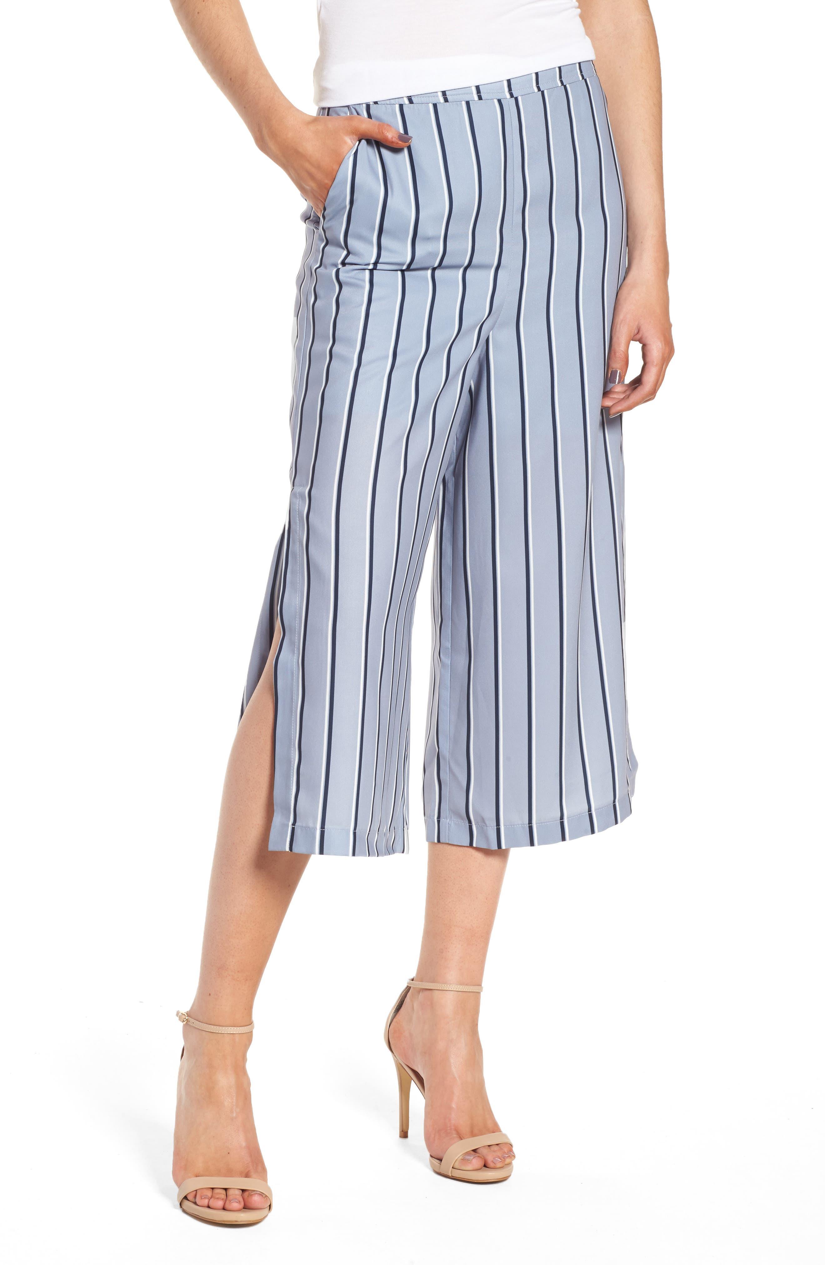 J.O.A. High Waist Crop Pants