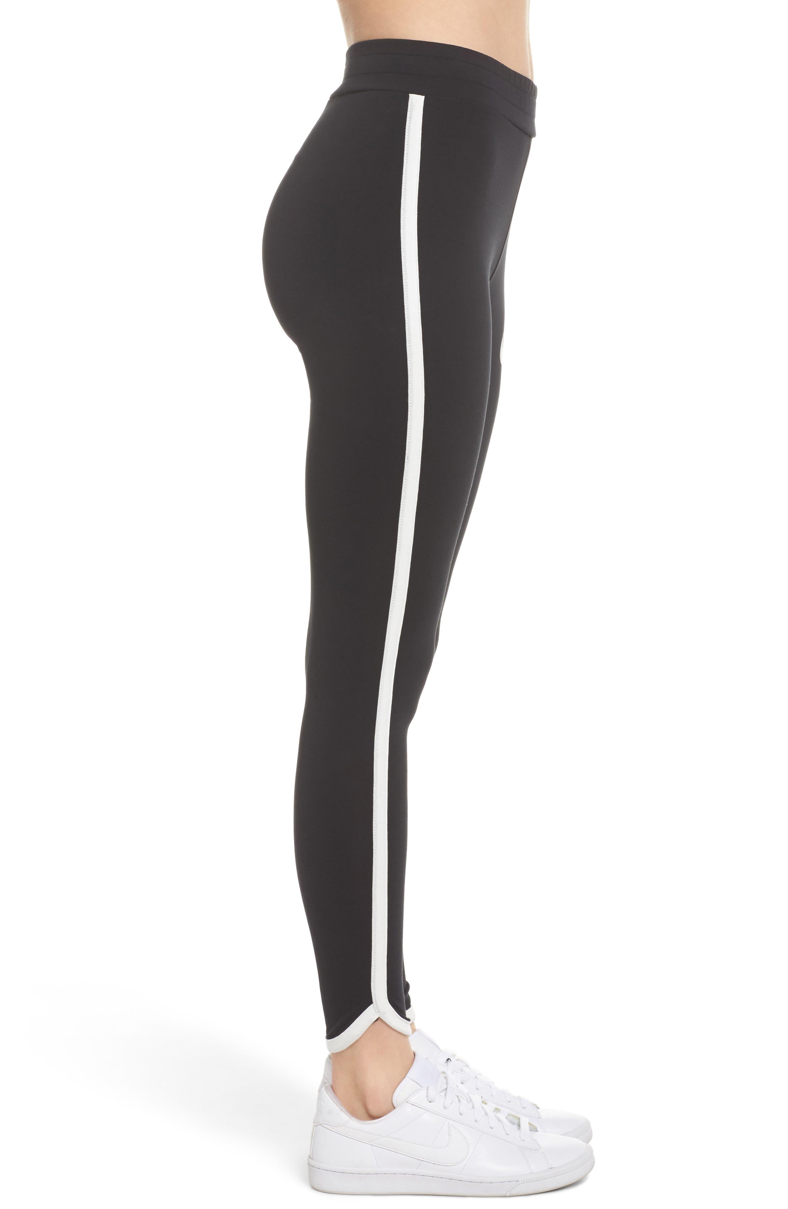 Sportswear Women's Leggings,                             Alternate thumbnail 3, color,                             Black/ Sail