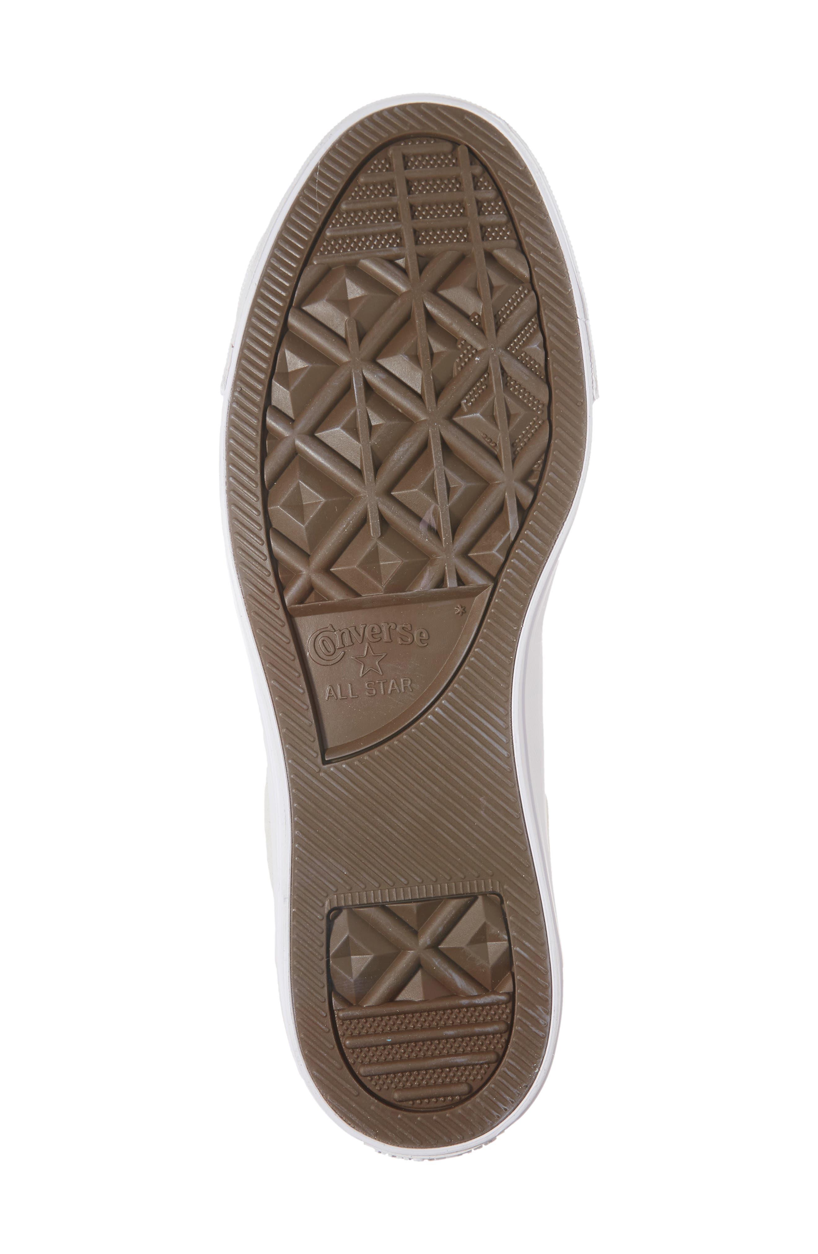 Alternate Image 6  - Converse Chuck Taylor® All Star® Plush Hi Sneaker (Men)