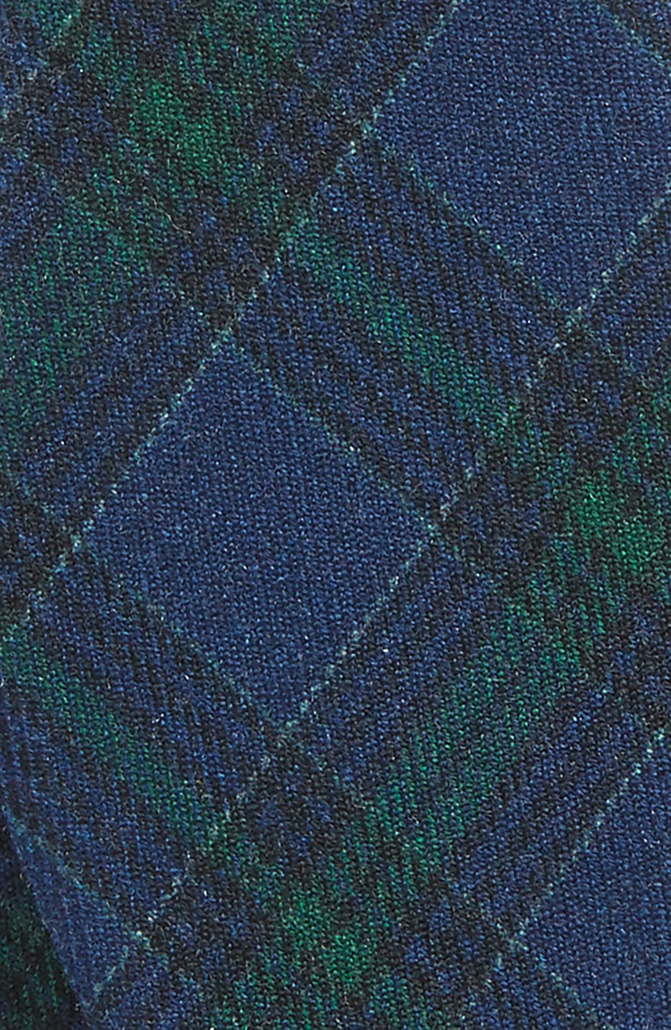 Alternate Image 3  - The Tie Bar Pittsfield Plaid Wool Bow Tie