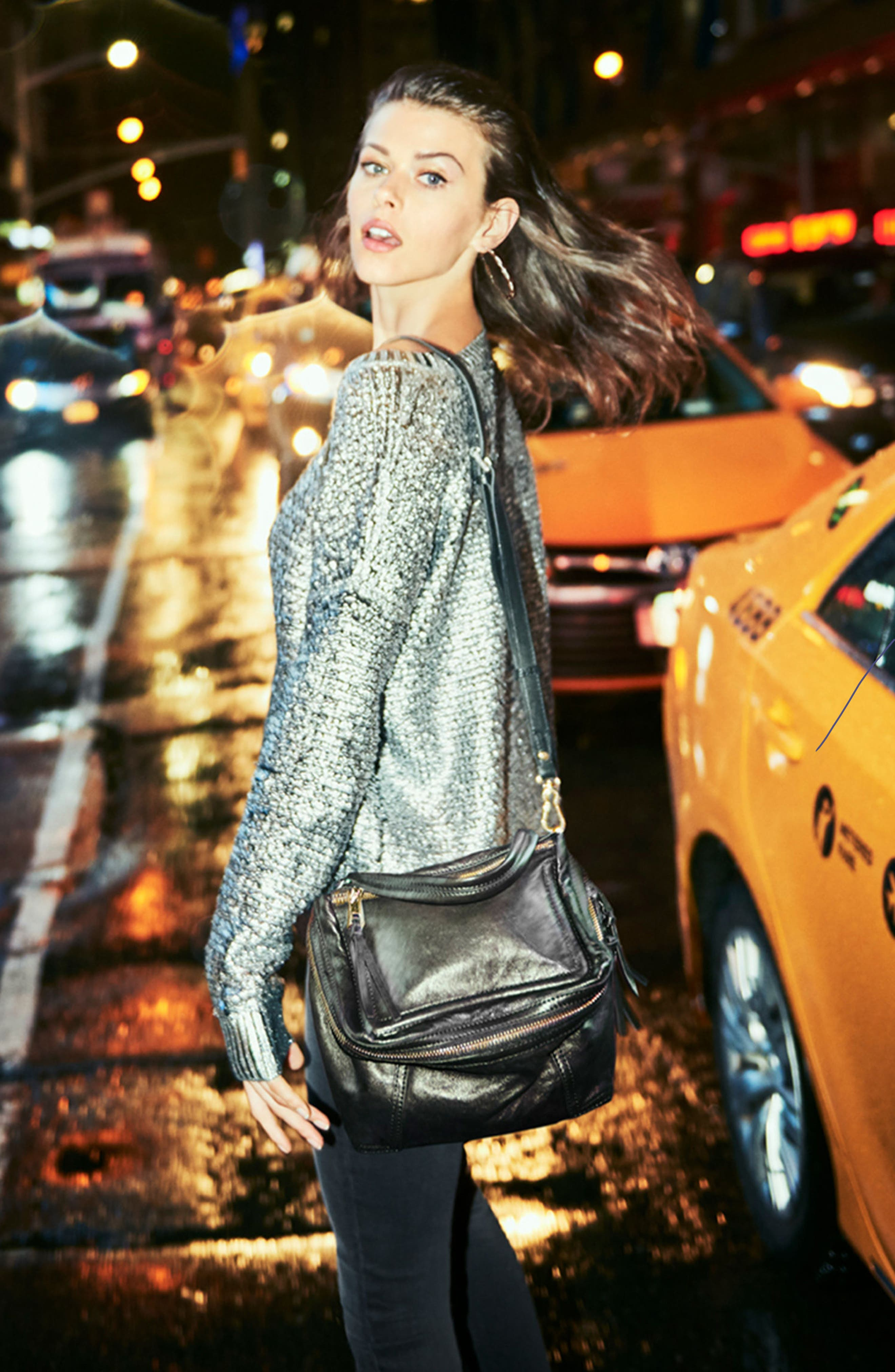 Alternate Image 7  - Vince Camuto Medium Patch Leather Crossbody Bag