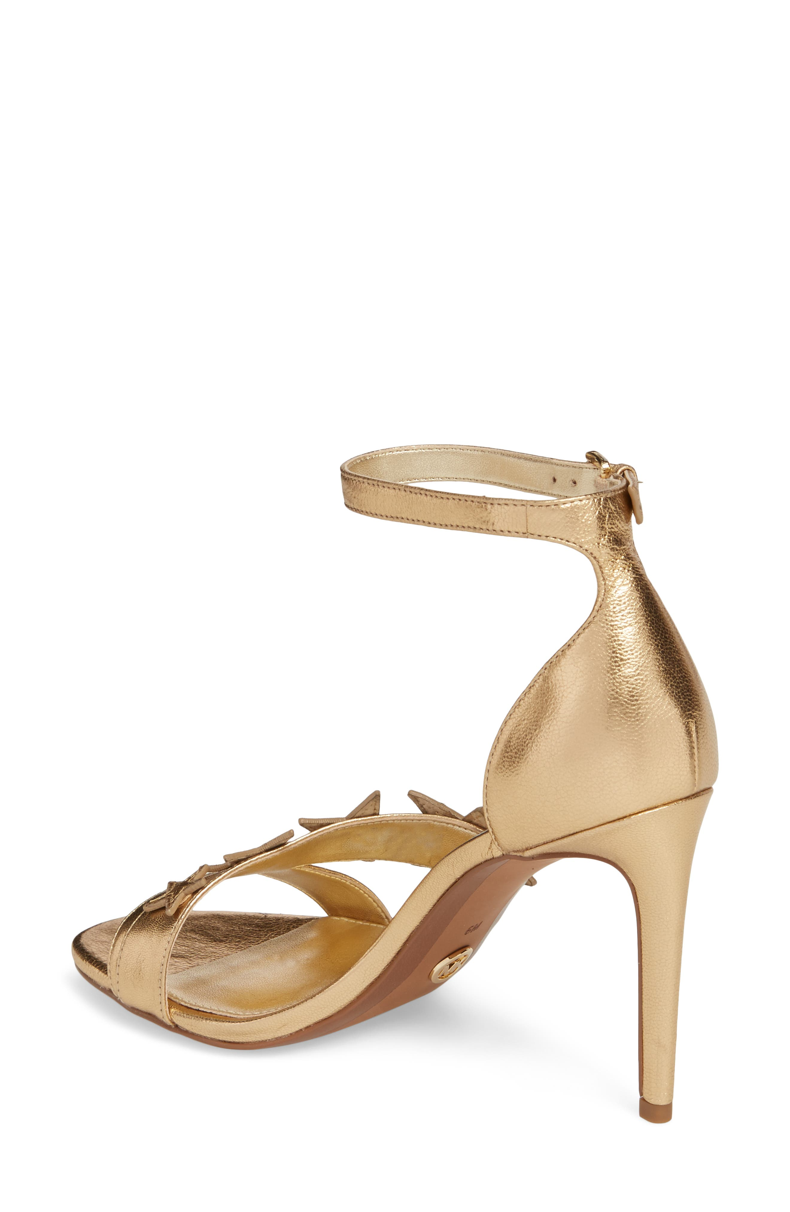 Lexie Sandal,                             Alternate thumbnail 2, color,                             Pale Gold Nappa Leather
