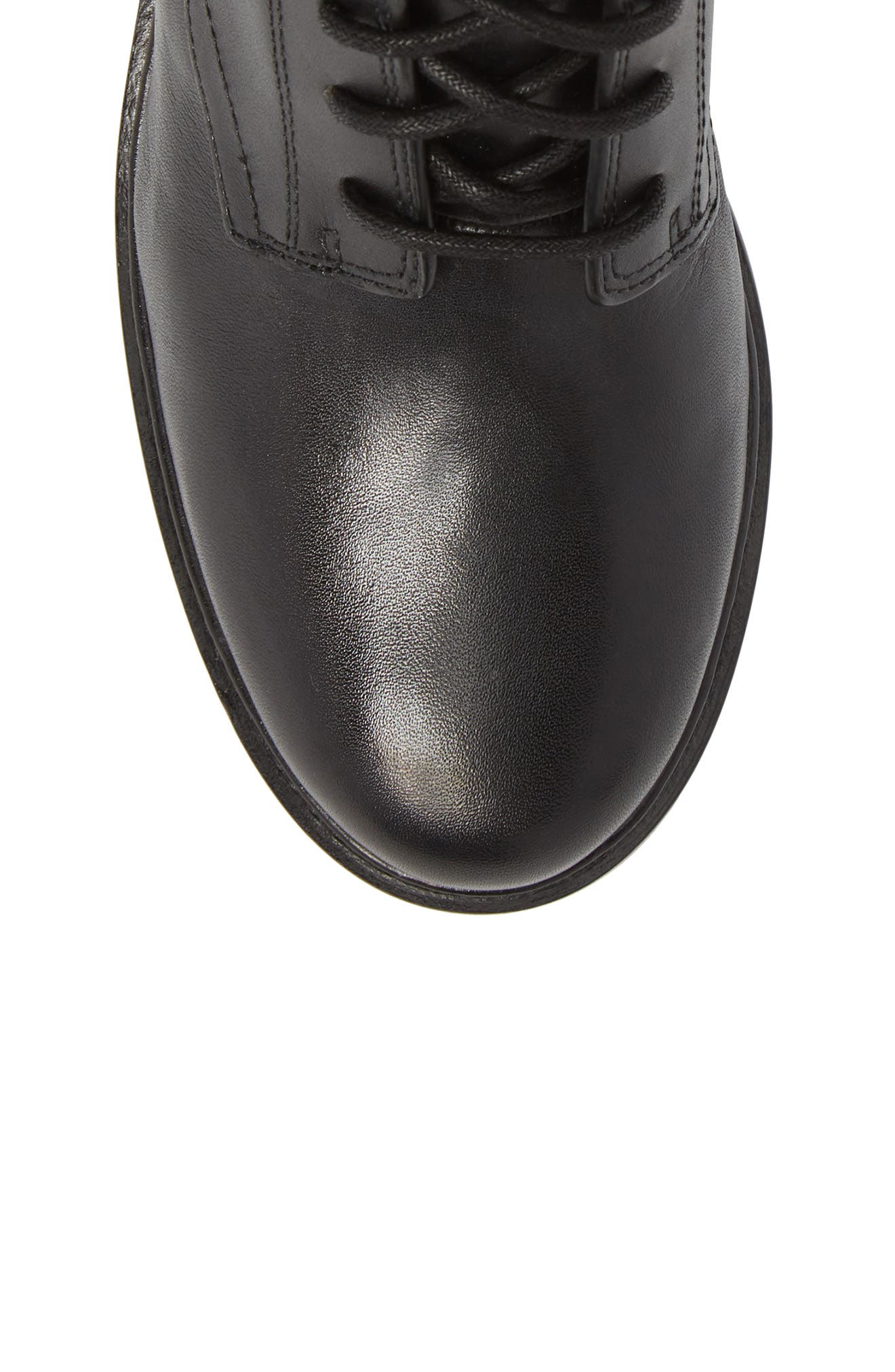 Bella Boot,                             Alternate thumbnail 5, color,                             Black Nappa Leather