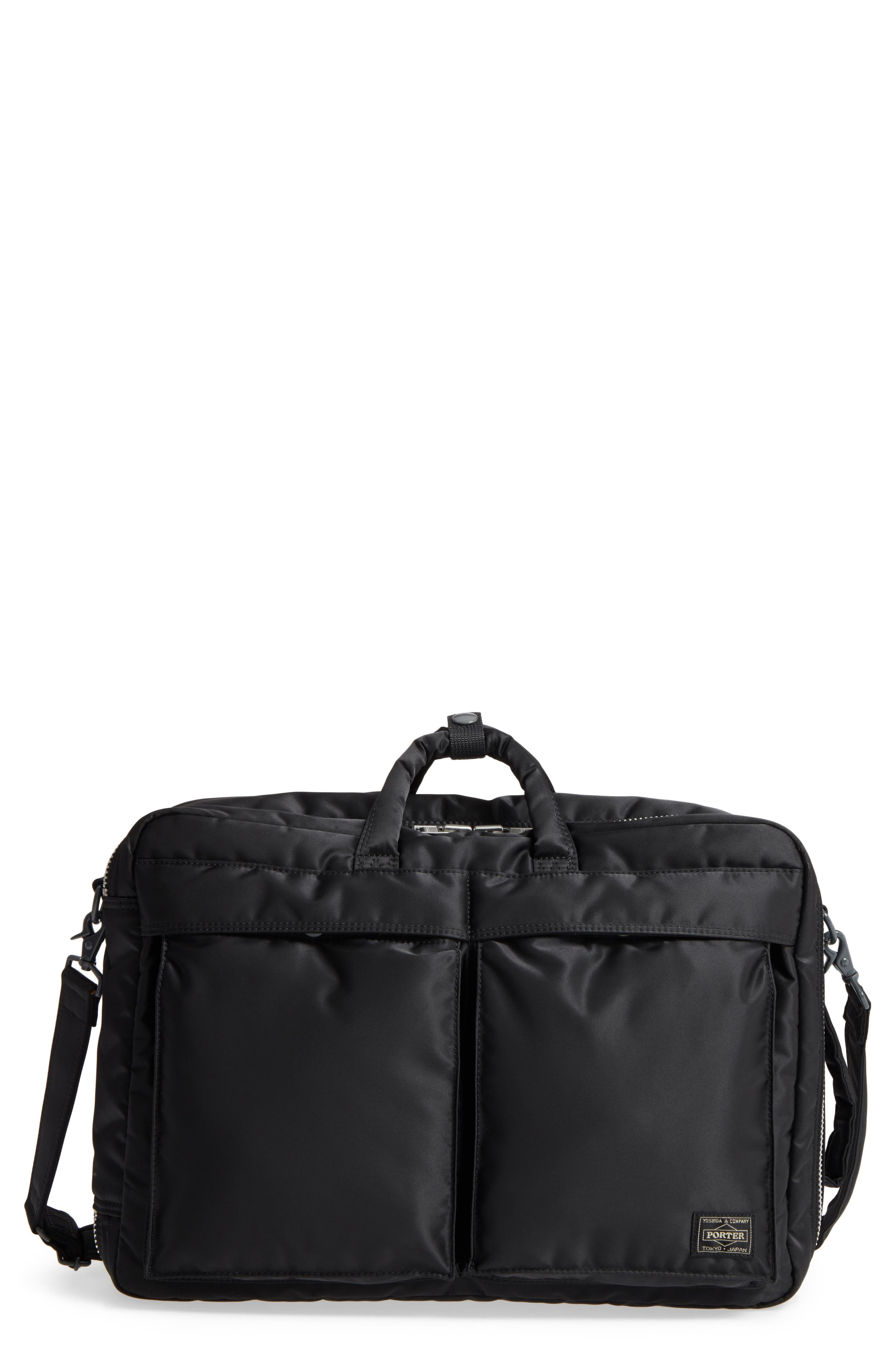 Alternate Image 1 Selected - Porter-Yoshida & Co. Tanker Three-Way Briefcase