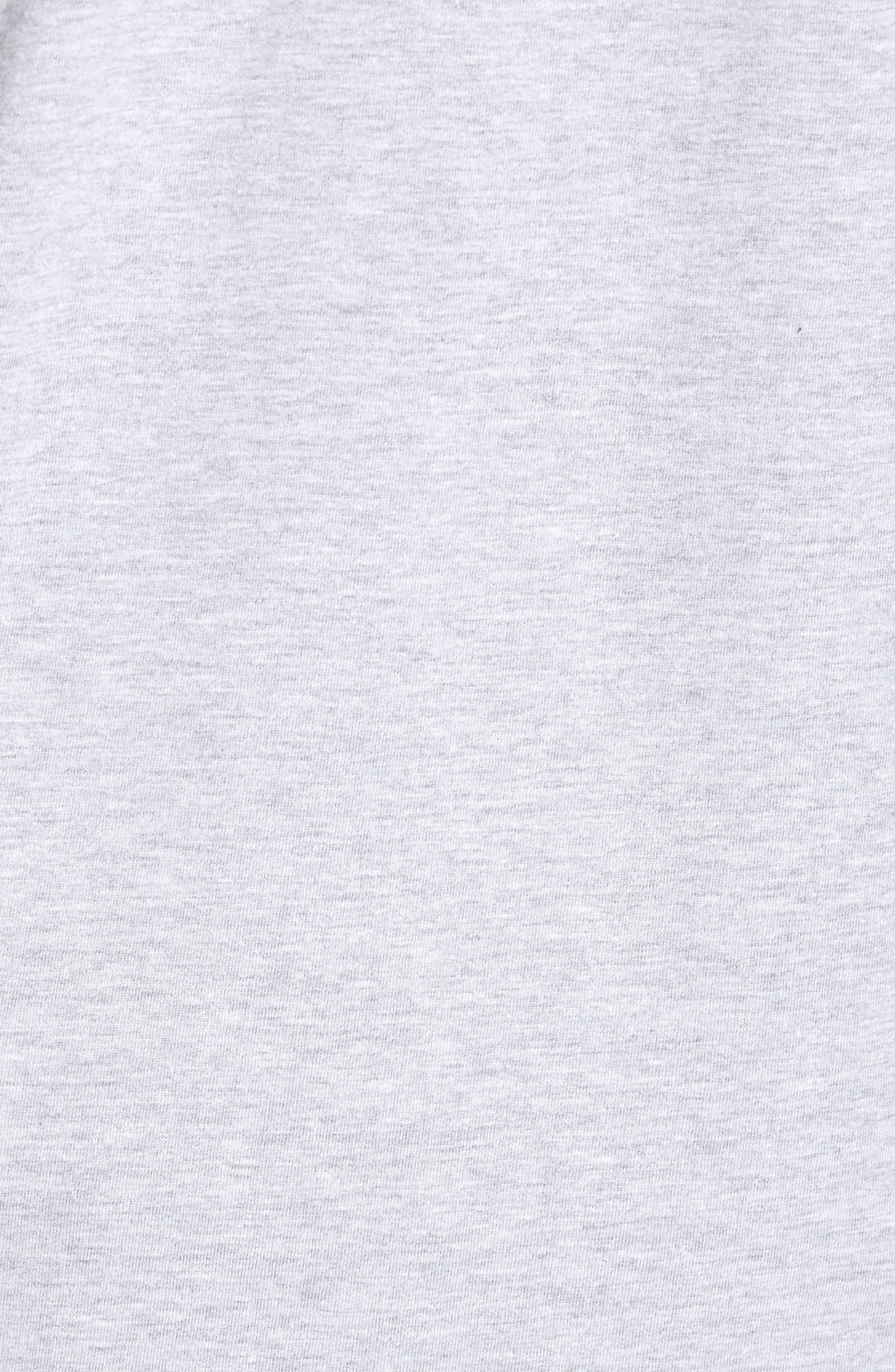 PNW Shield Sweatshirt,                             Alternate thumbnail 5, color,                             Heather Grey
