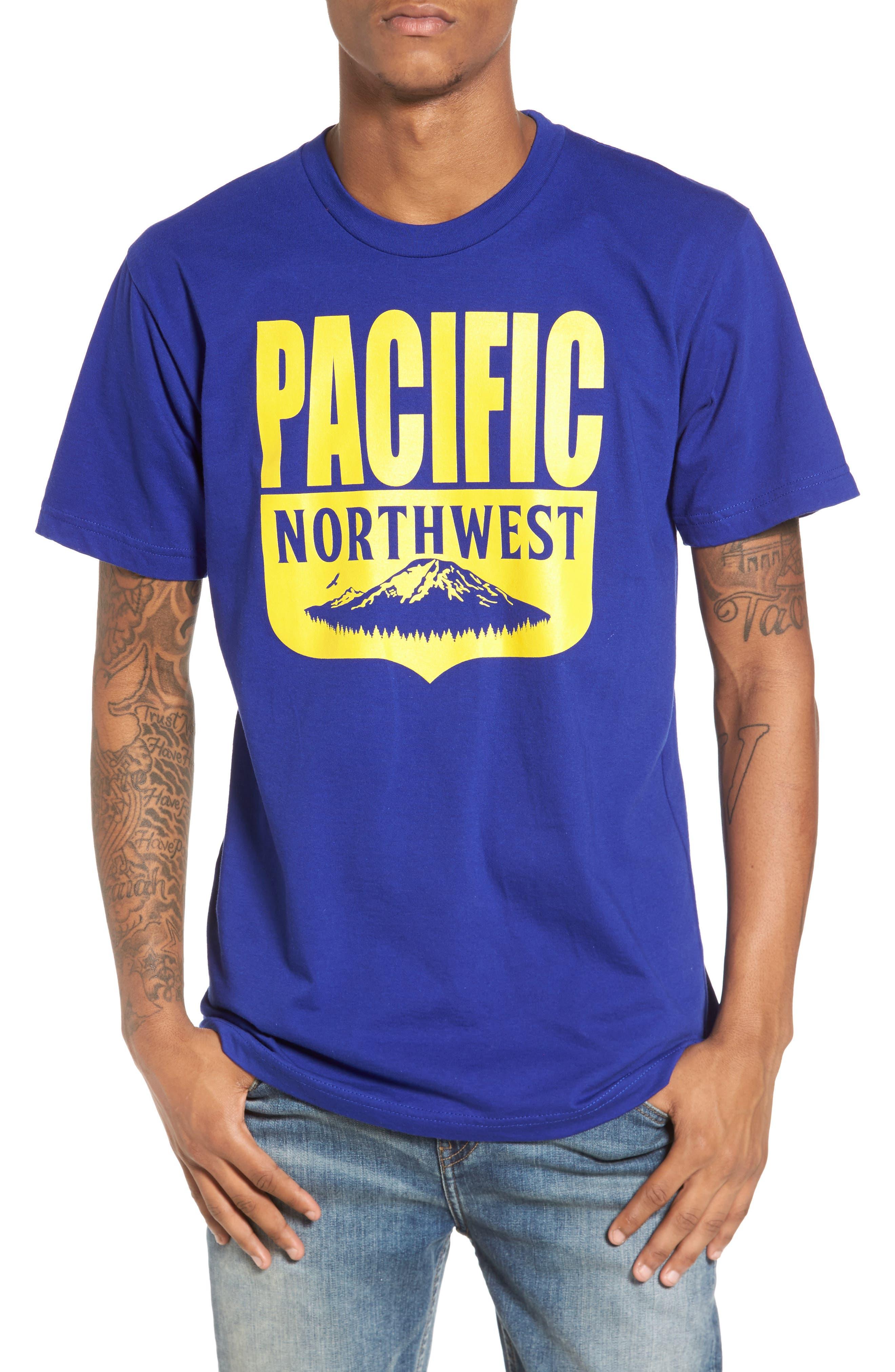 PNW Shield T-Shirt,                         Main,                         color, Lapiz