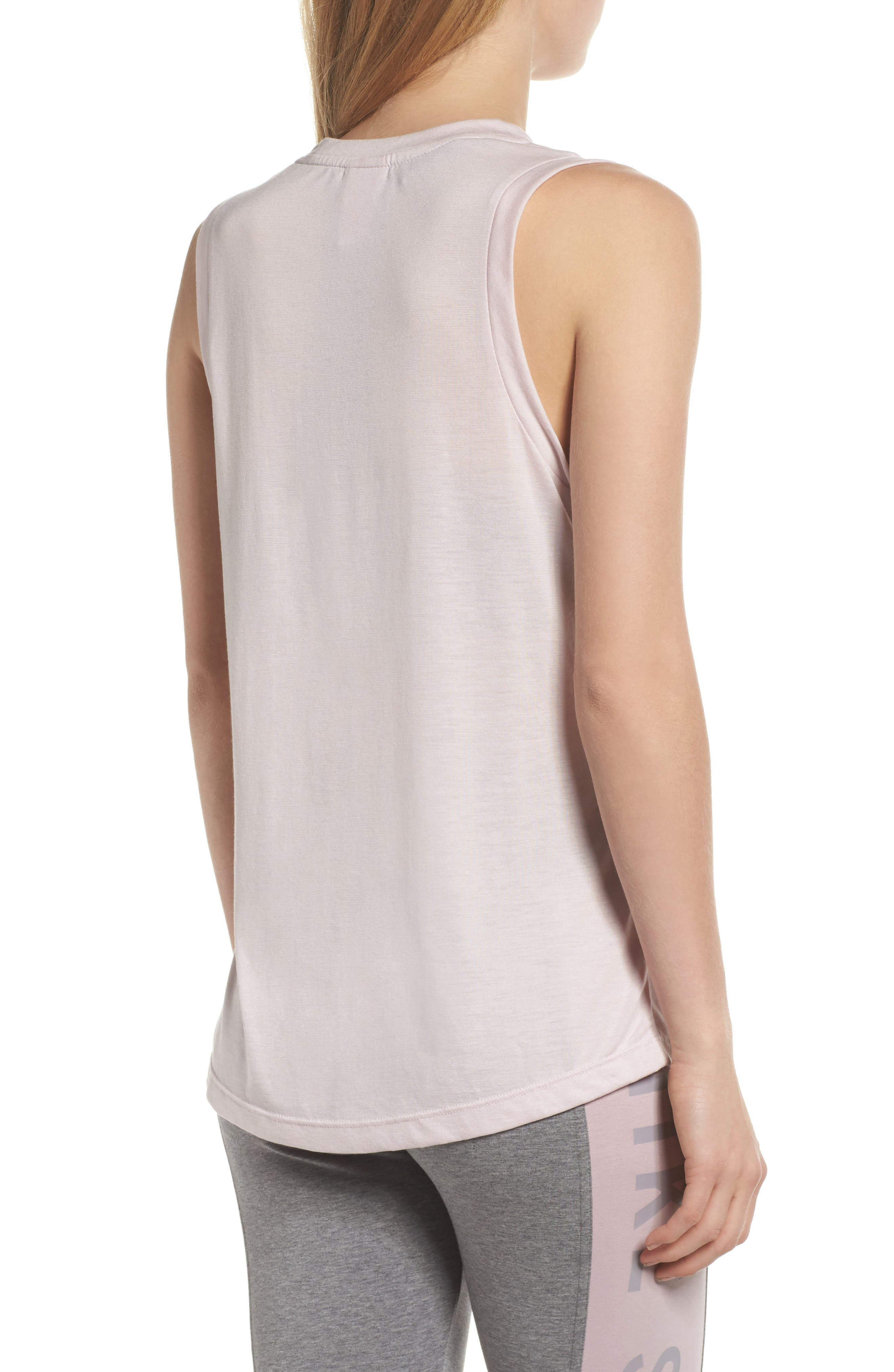 Sportswear Essential Women's Tank,                             Alternate thumbnail 2, color,                             Barely Rose/ Barely Rose