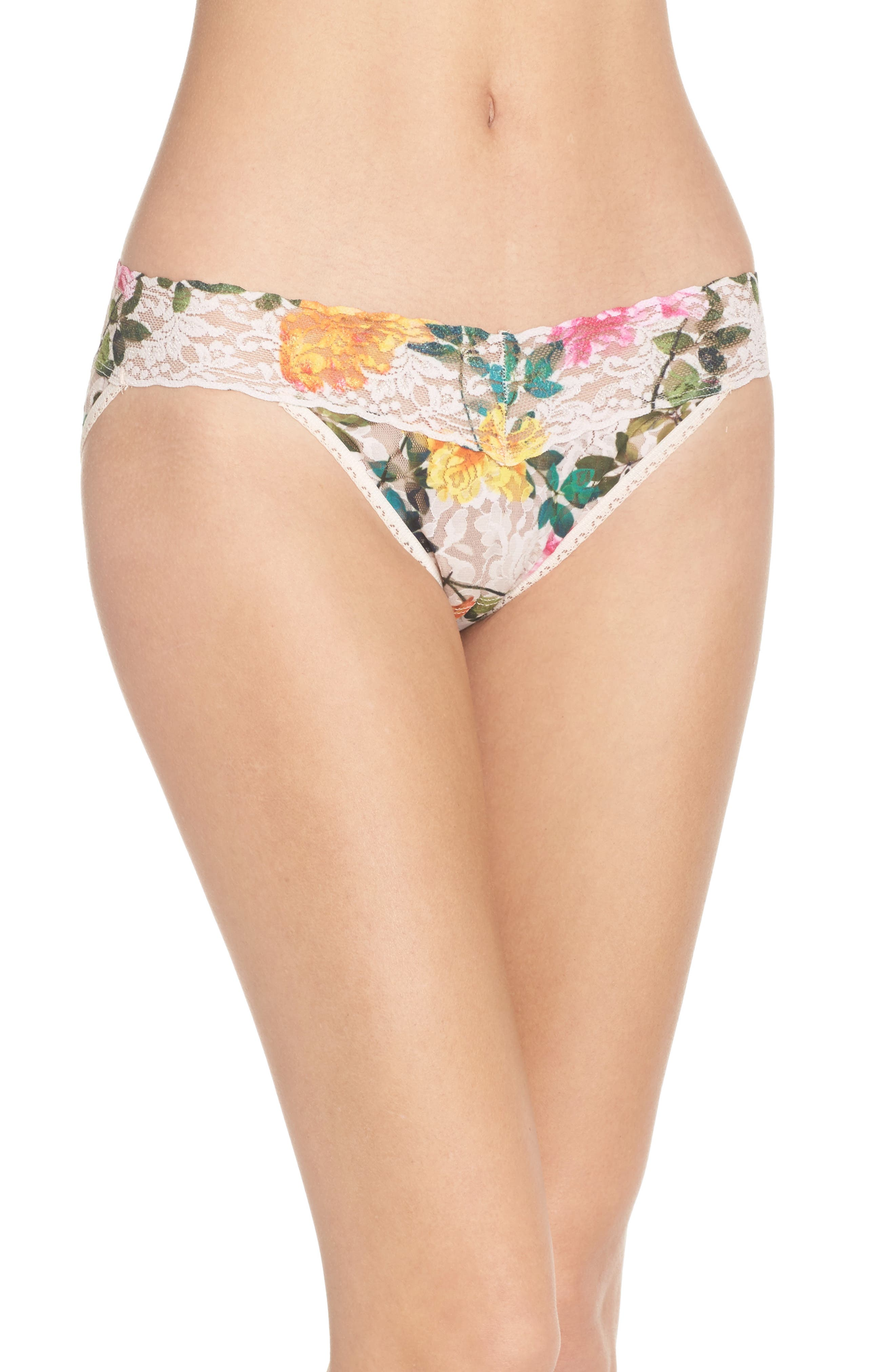 Alternate Image 1 Selected - Hanky Panky Print V-Kini Bikini