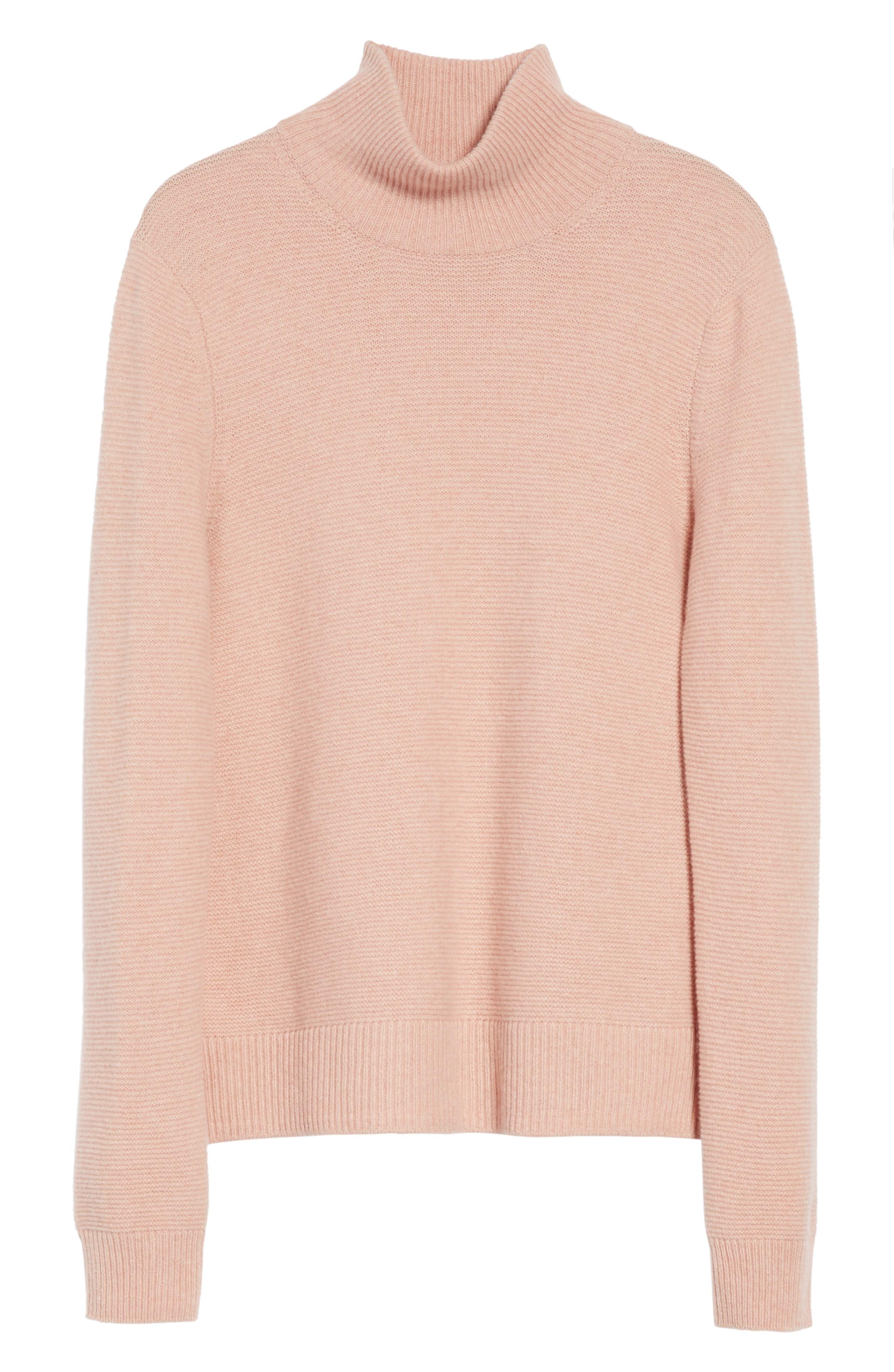Alternate Image 6  - Equipment Chandler Wool-Blend Turtleneck Sweater