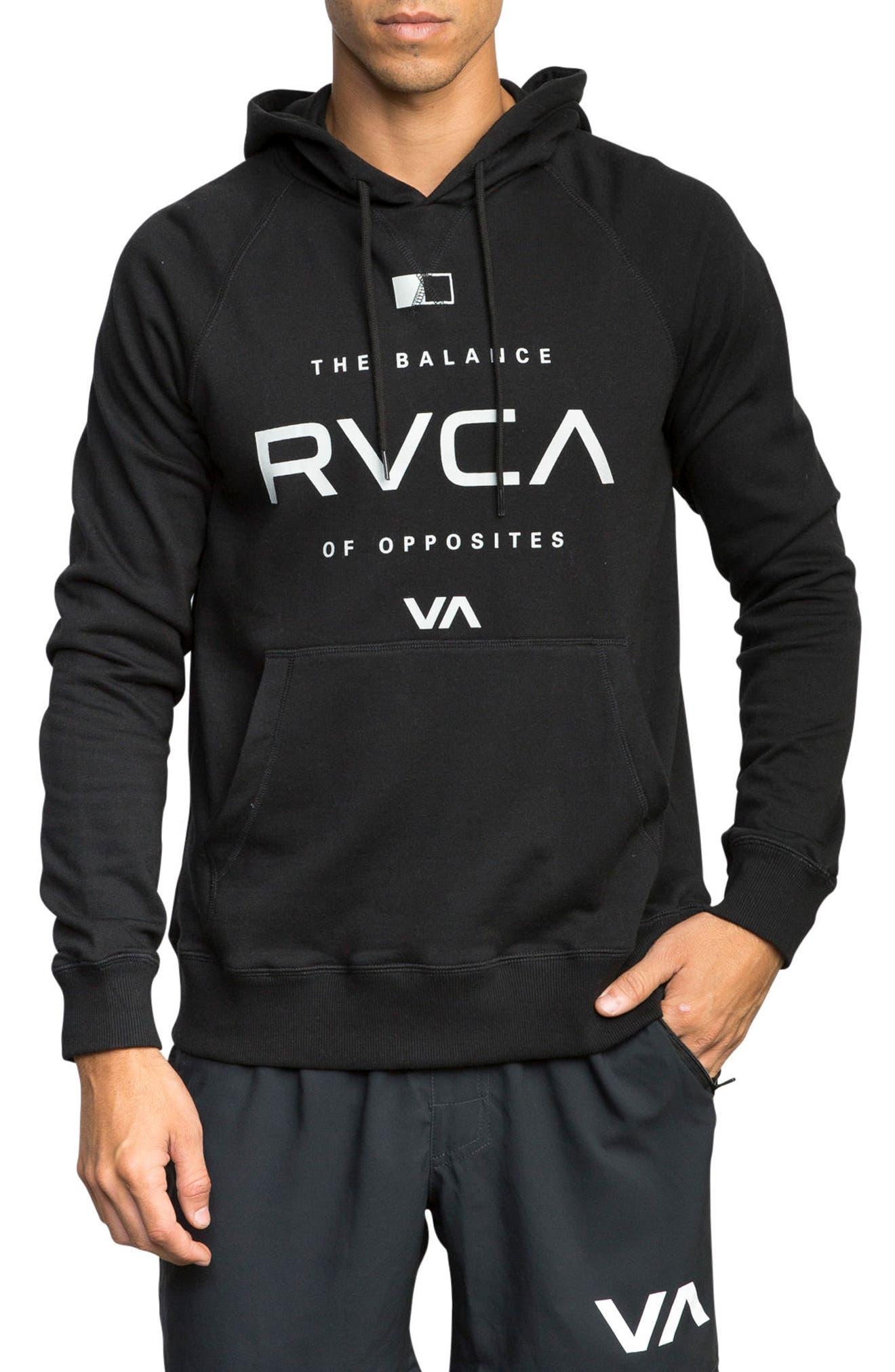 Alternate Image 1 Selected - RVCA Lock In Graphic Hoodie