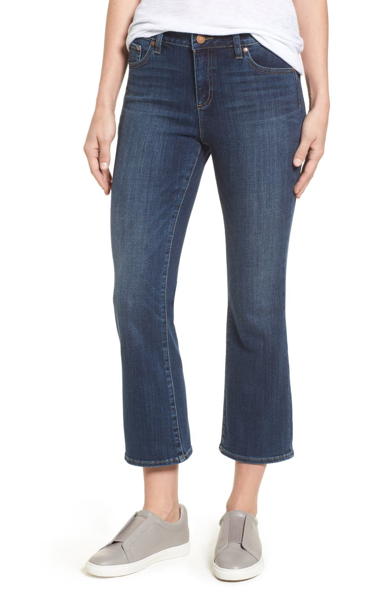 Two by Vince Camuto Cropped Flare Jeans