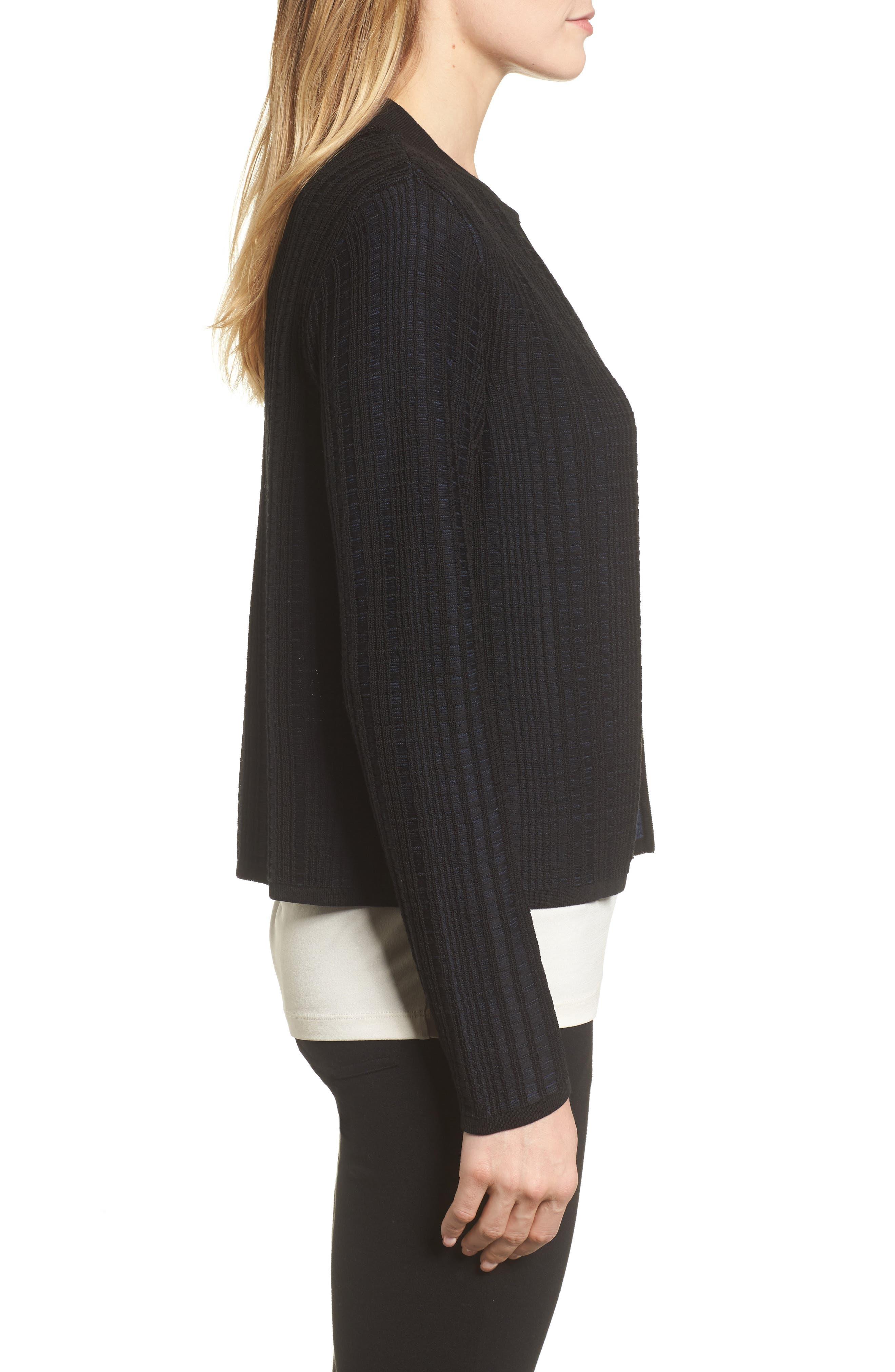Alternate Image 3  - Eileen Fisher Tencel® Jacquard Jacket