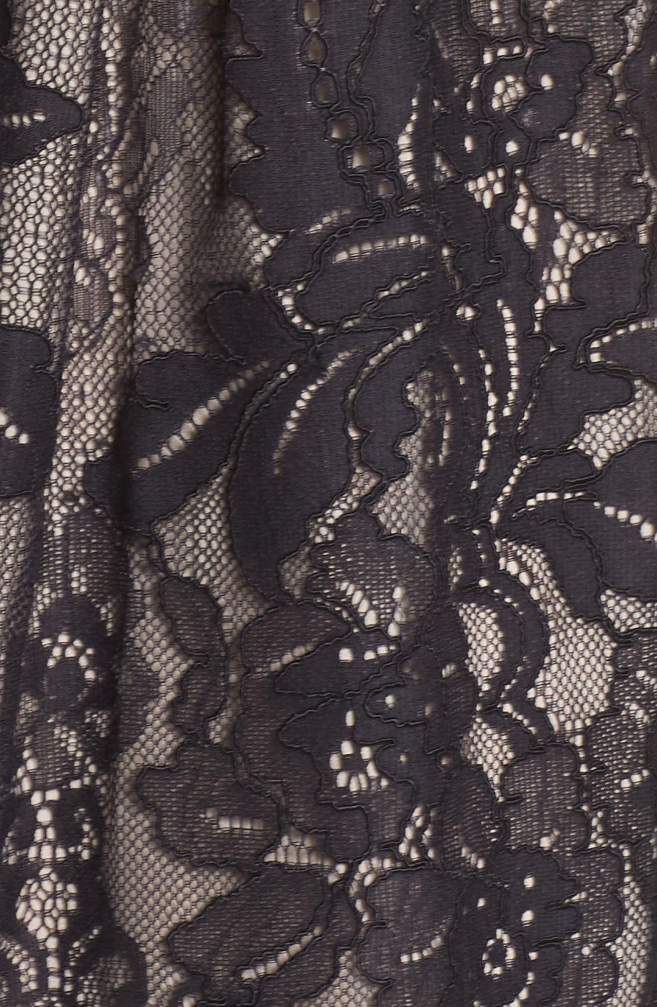 Alternate Image 5  - Maggy London Cold Shoulder Lace Dress