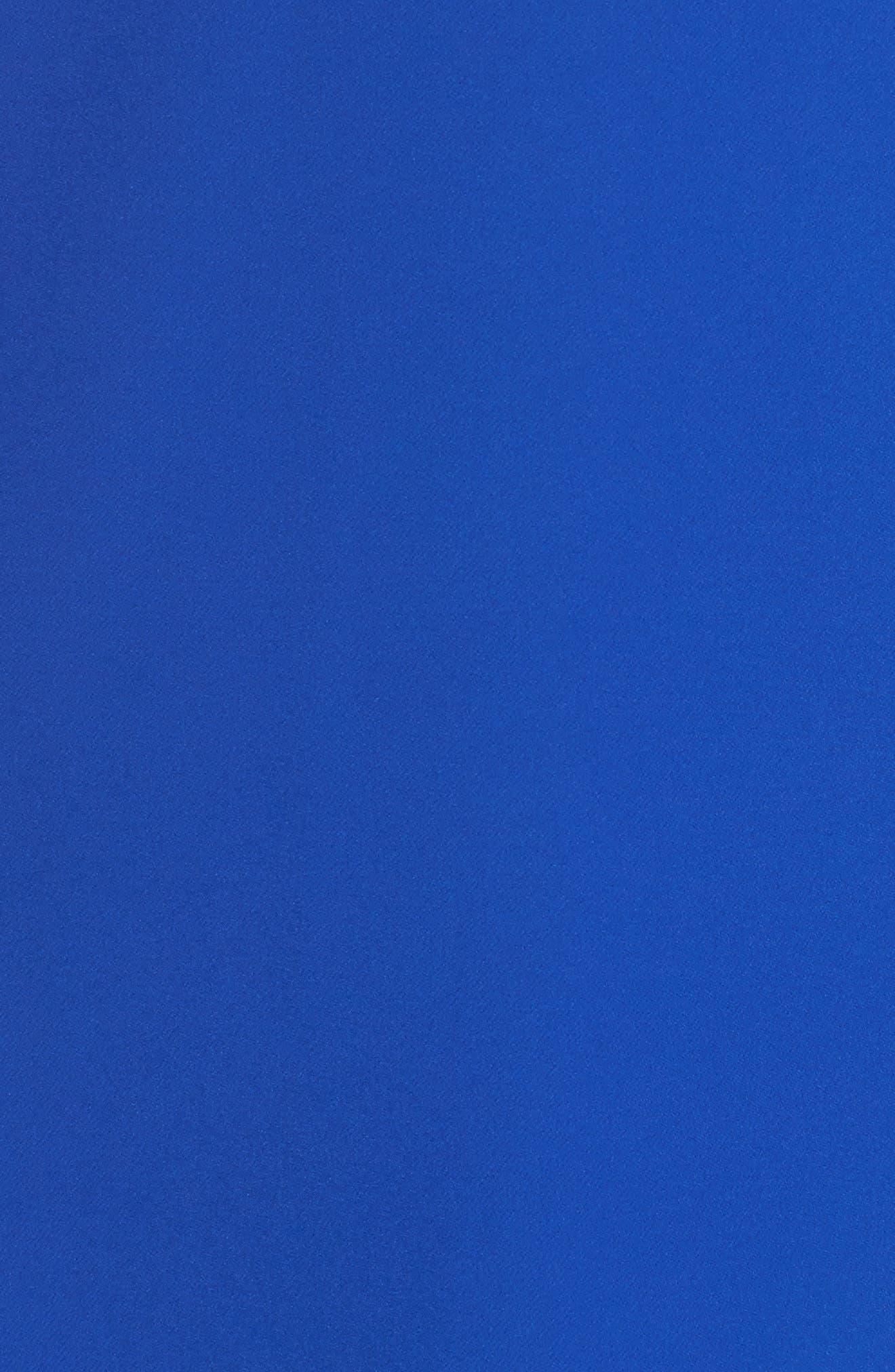 Scuba Shift Dress,                             Alternate thumbnail 5, color,                             Patriot Blue