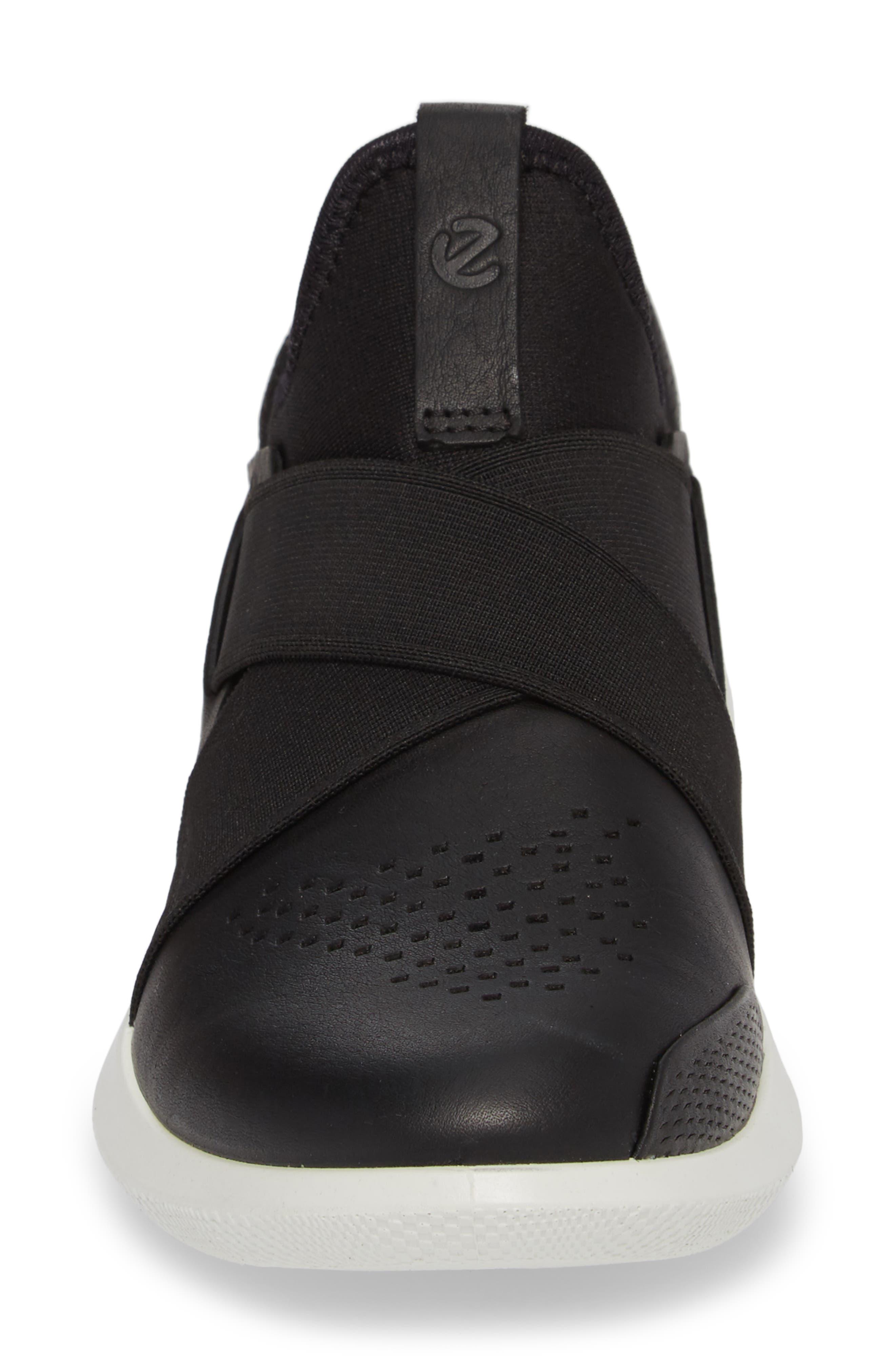 Scinapse Band Sneaker,                             Alternate thumbnail 4, color,                             Black