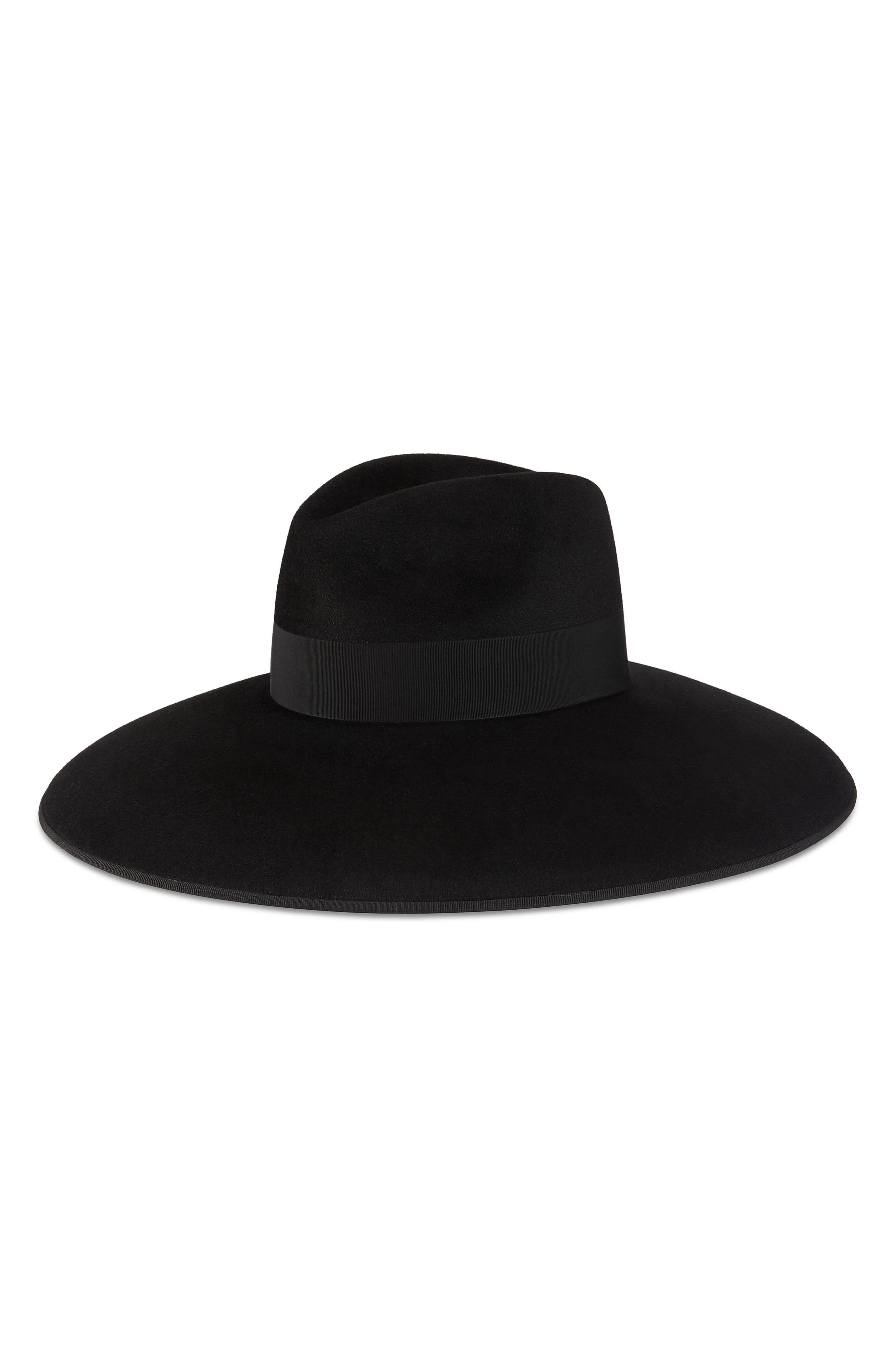 Alternate Image 2  - Gucci Fur Felt Wide Brim Hat