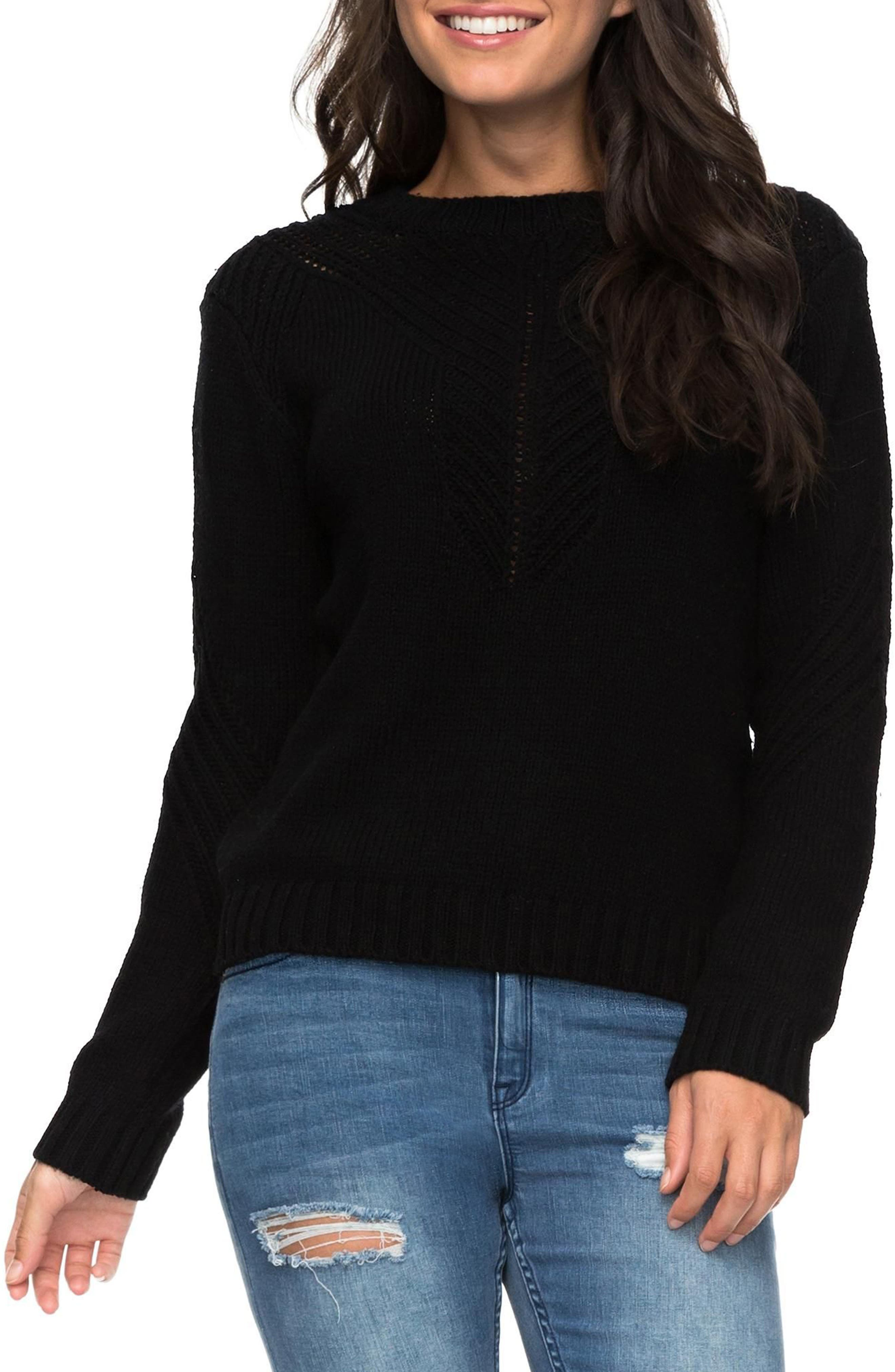 Take Over the World Sweater,                             Main thumbnail 1, color,                             Anthracite