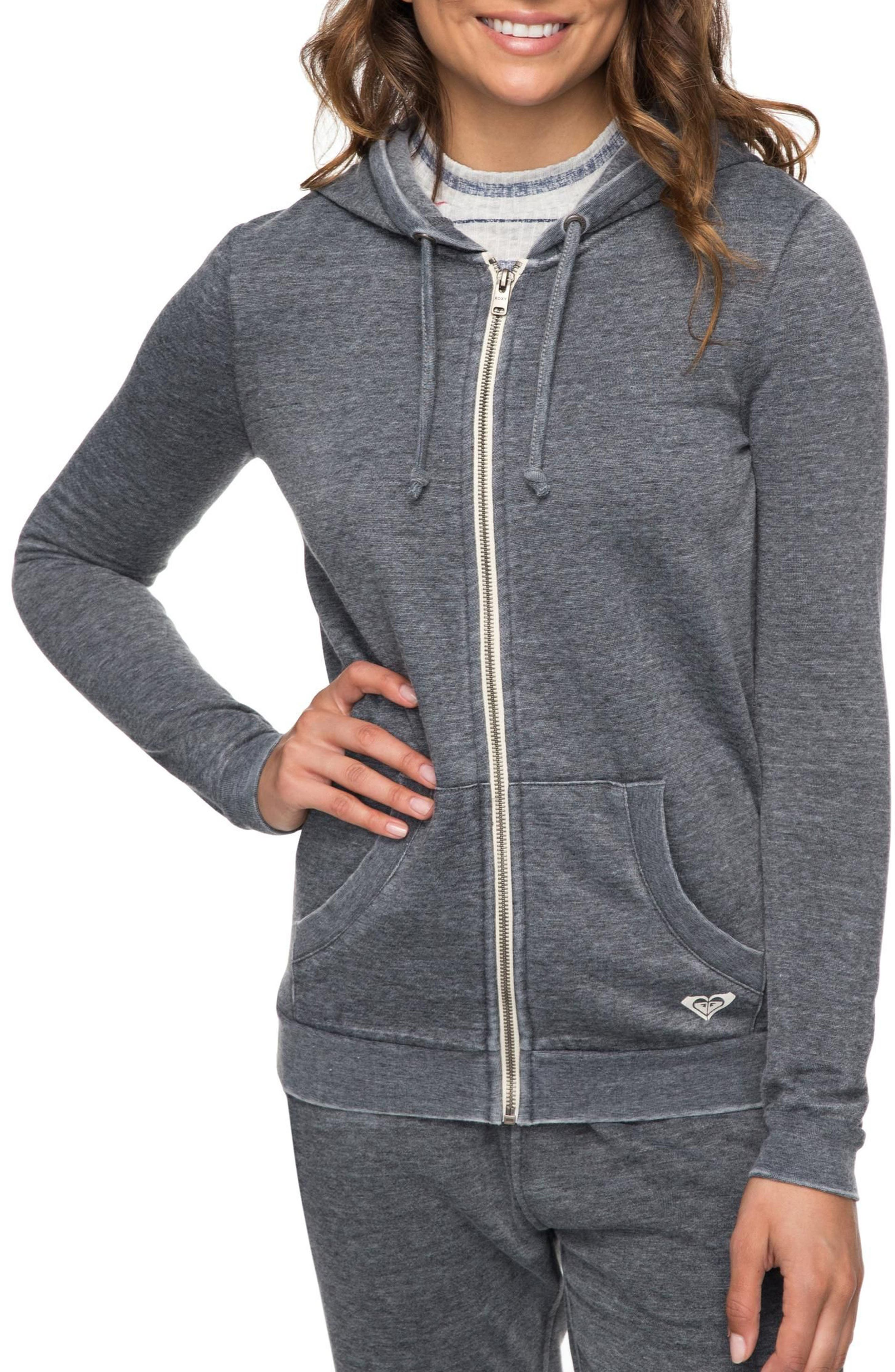 Groovy Stardust Tidewall Hoodie,                         Main,                         color, Anthracite