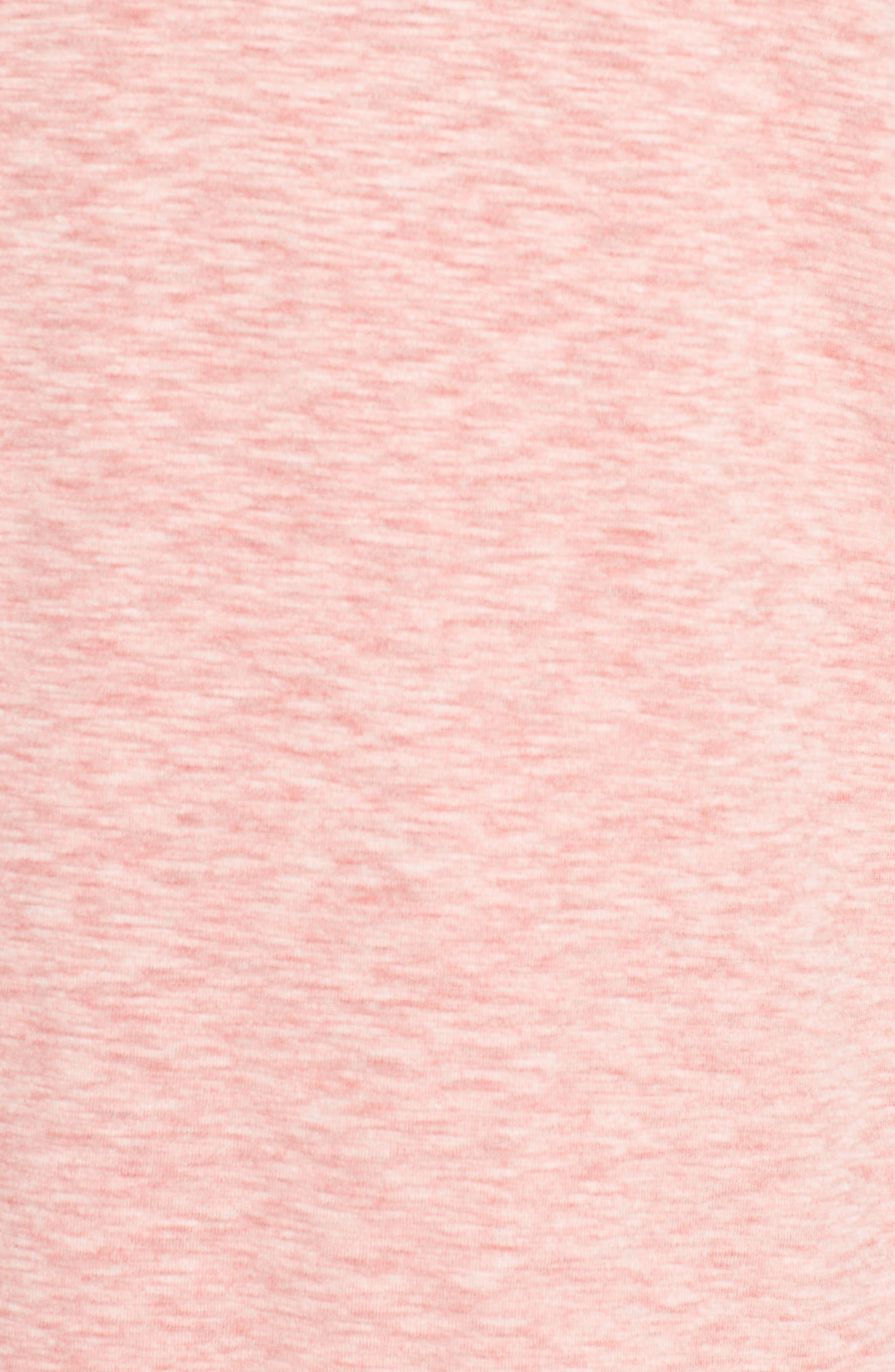 Sea Glass Reversible Quarter Zip Pullover,                             Alternate thumbnail 6, color,                             Ribbon Red
