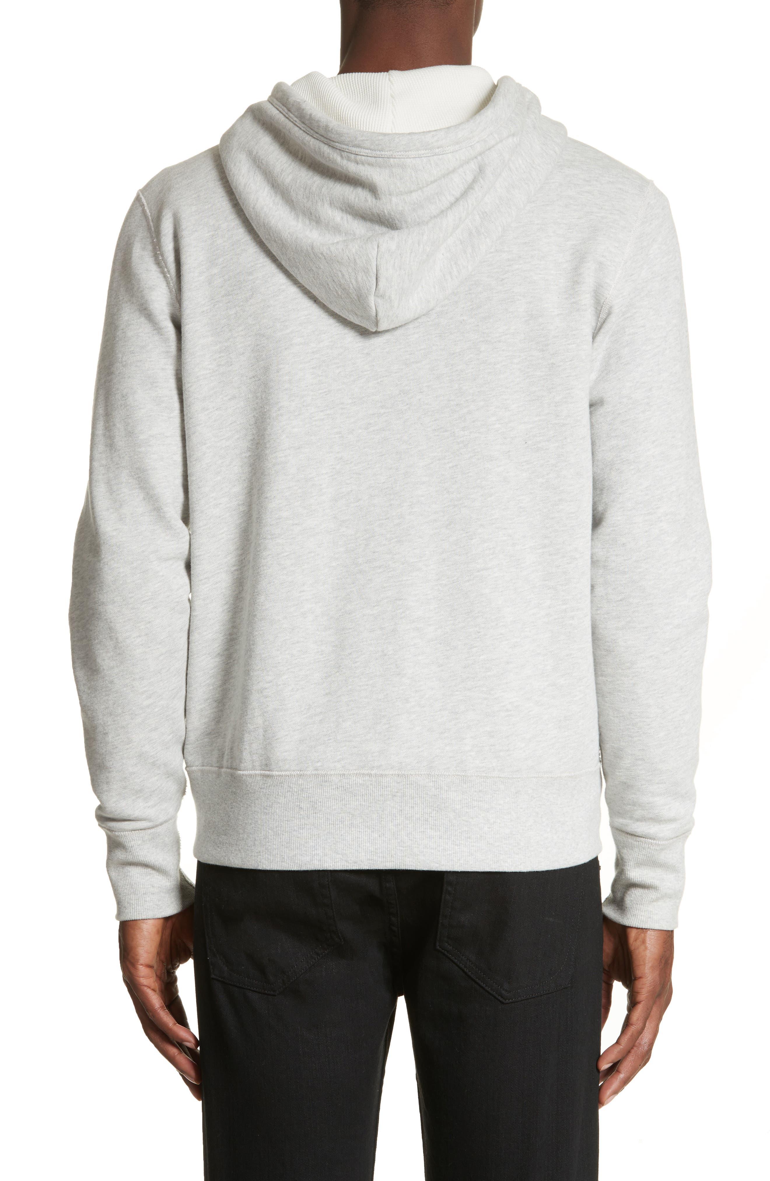 Alternate Image 2  - rag & bone Standard Issue Zip Hoodie