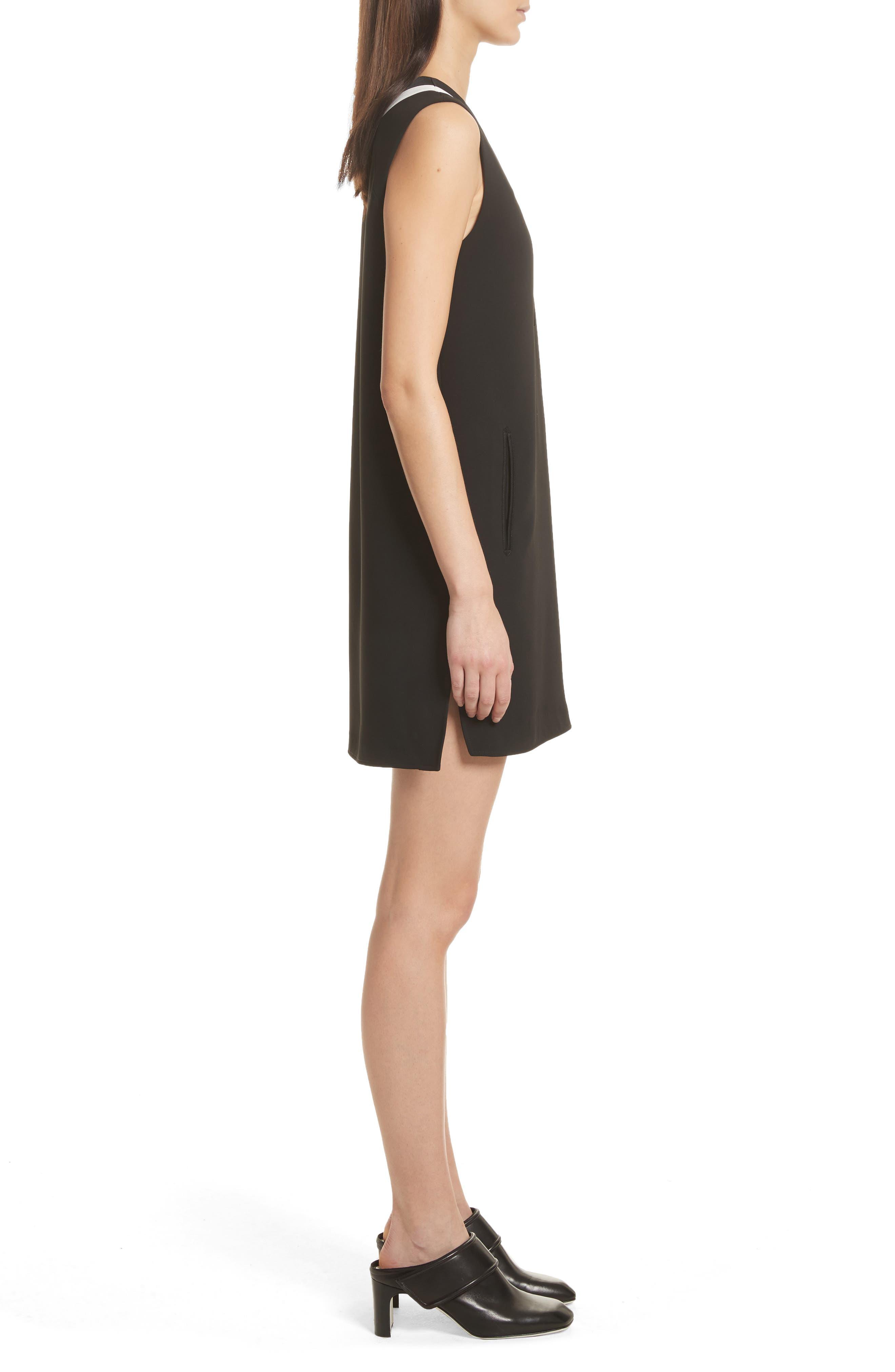 Lodwick Dress,                             Alternate thumbnail 3, color,                             Black