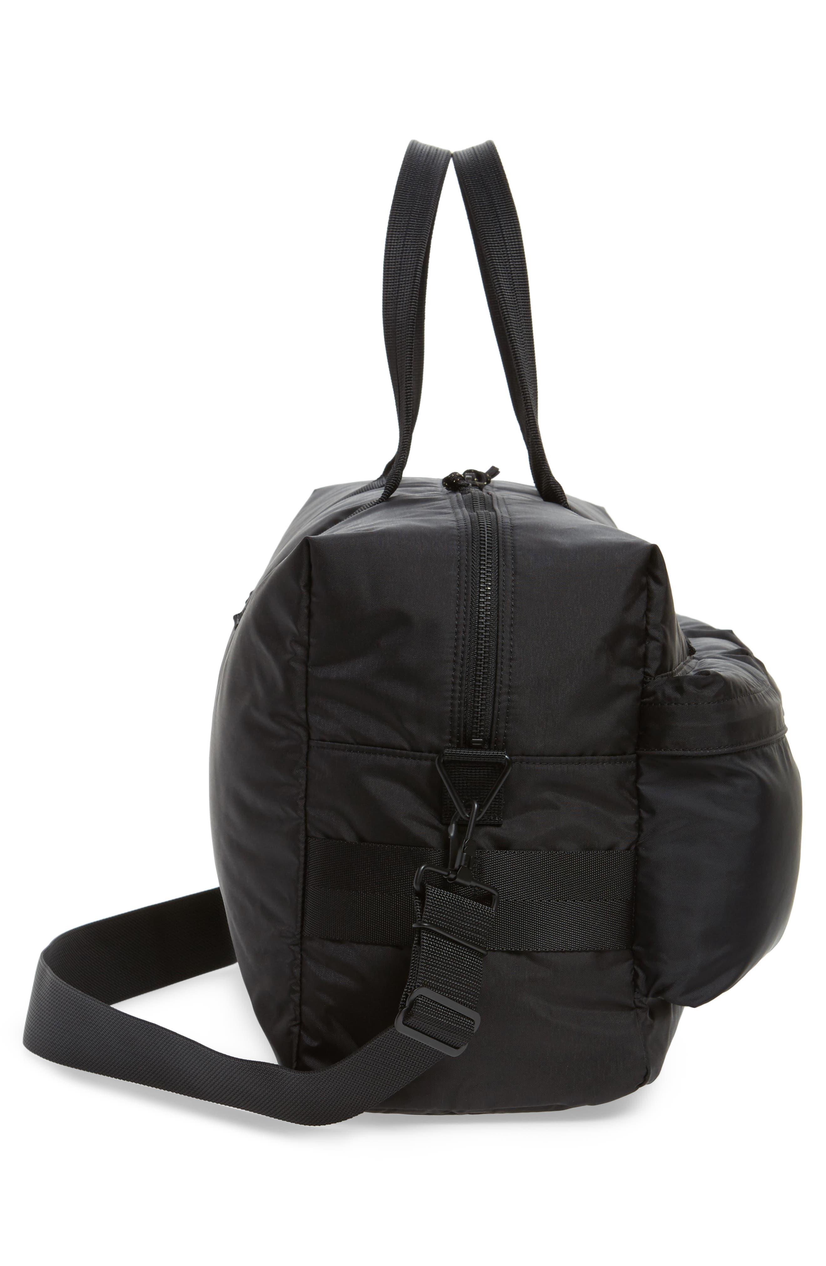 Porter-Yoshida & Co. Force Duffel Bag,                             Alternate thumbnail 5, color,                             Black