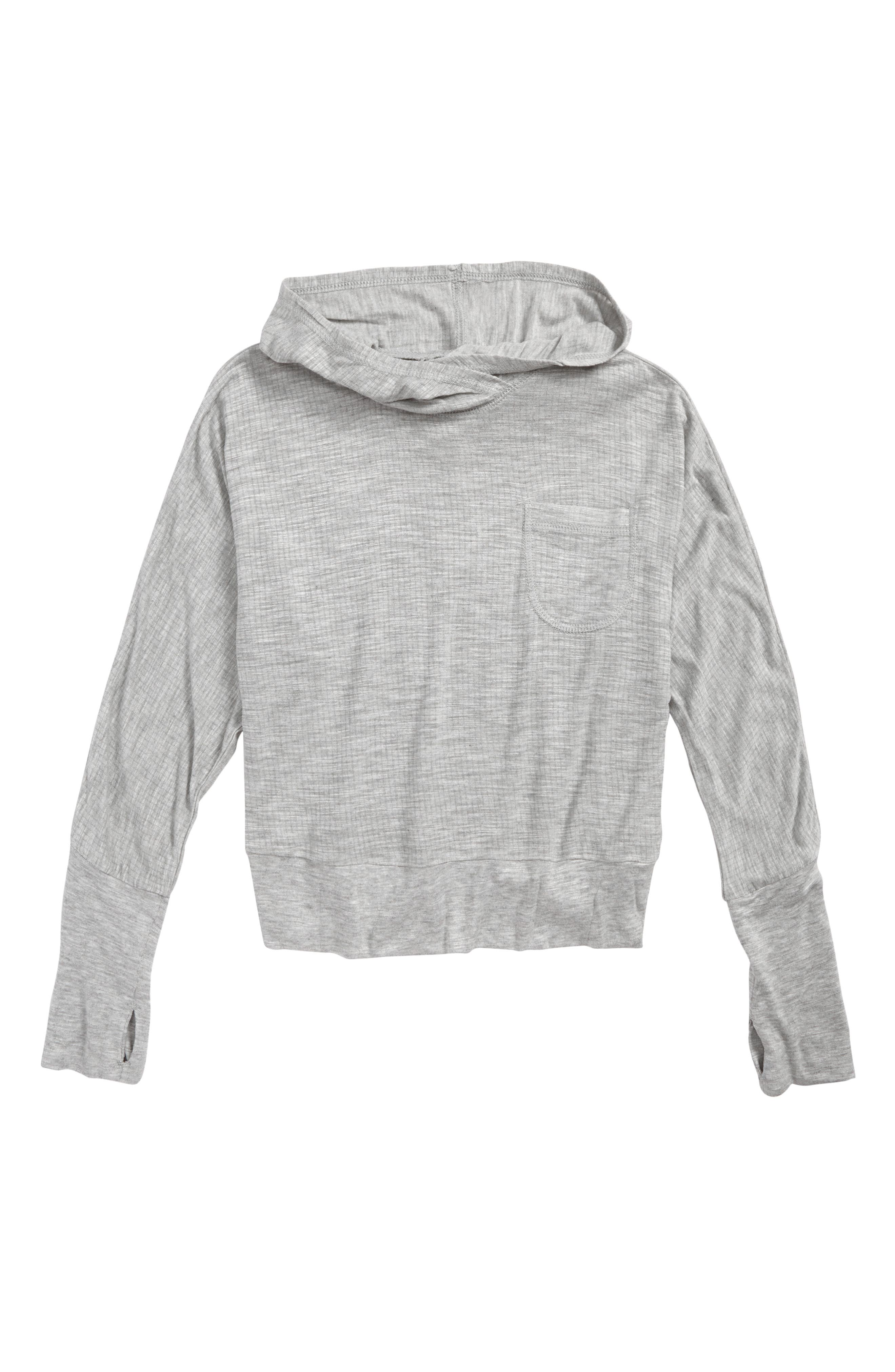 Zella Girl Dolman Hooded Tee (Little Girls & Big Girls)