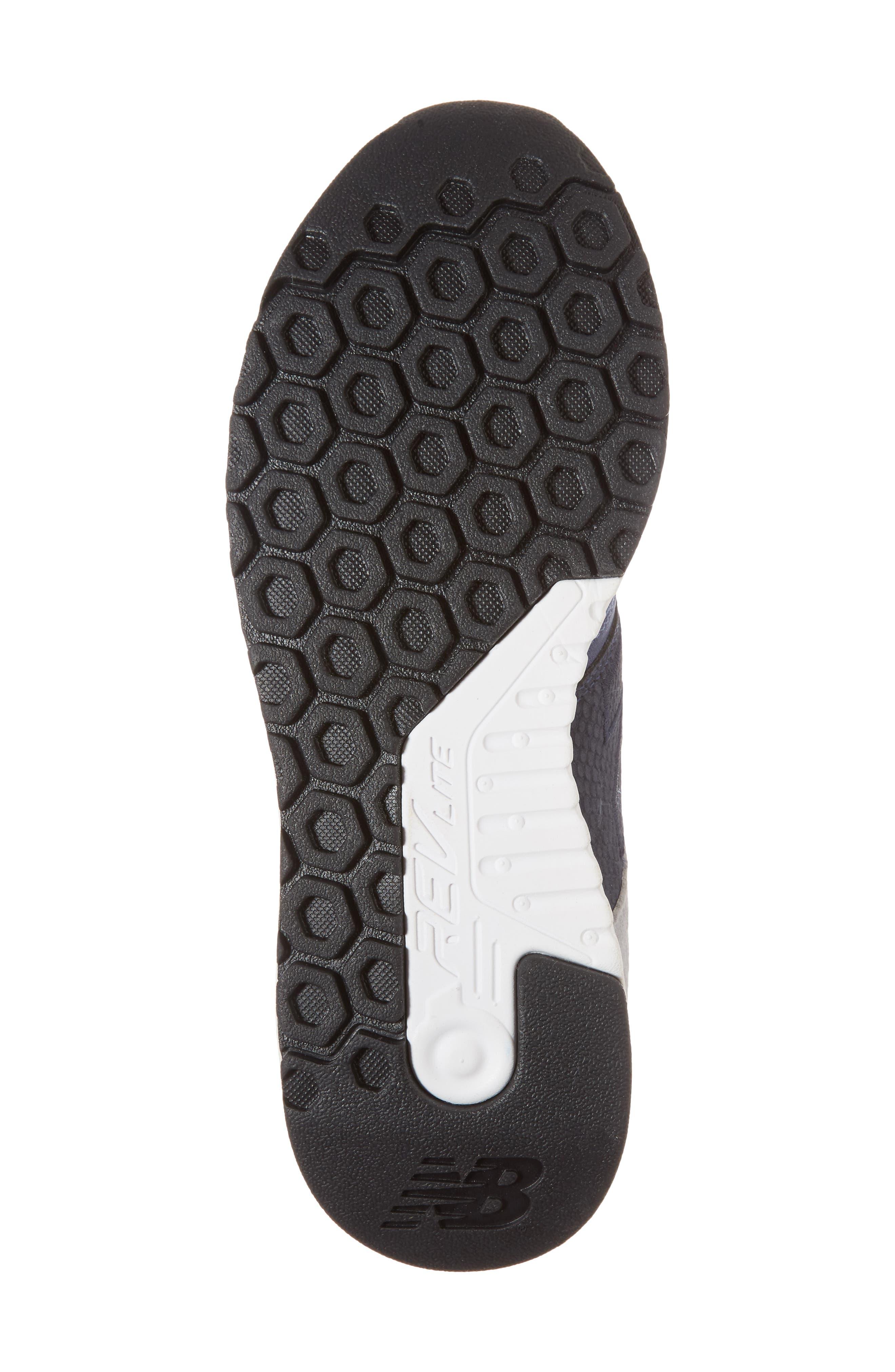 247 Luxe Sneaker,                             Alternate thumbnail 6, color,                             Blue