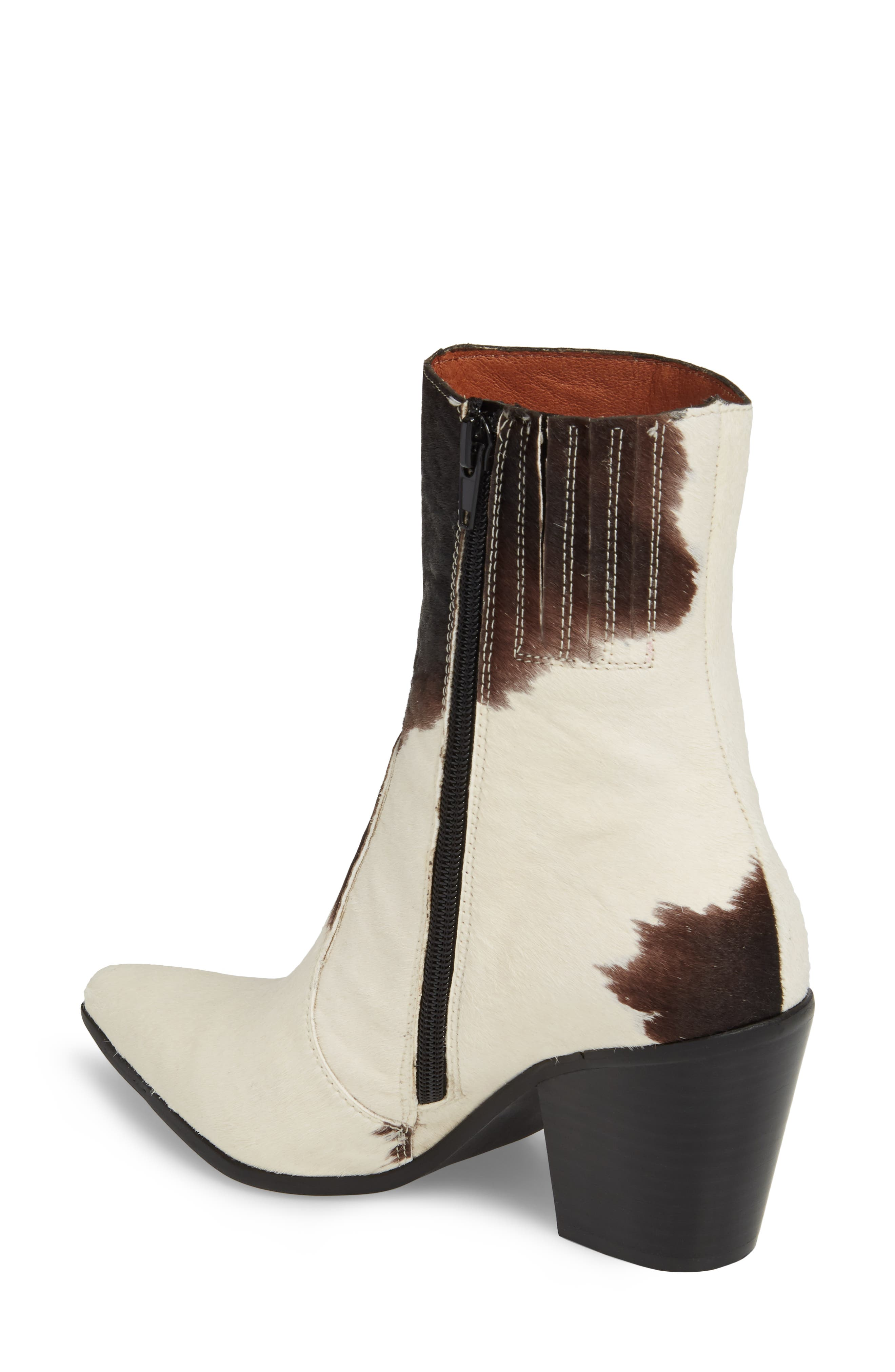 Alternate Image 2  - Jeffrey Campbell Ace-F Genuine Calf Hair Bootie (Women)