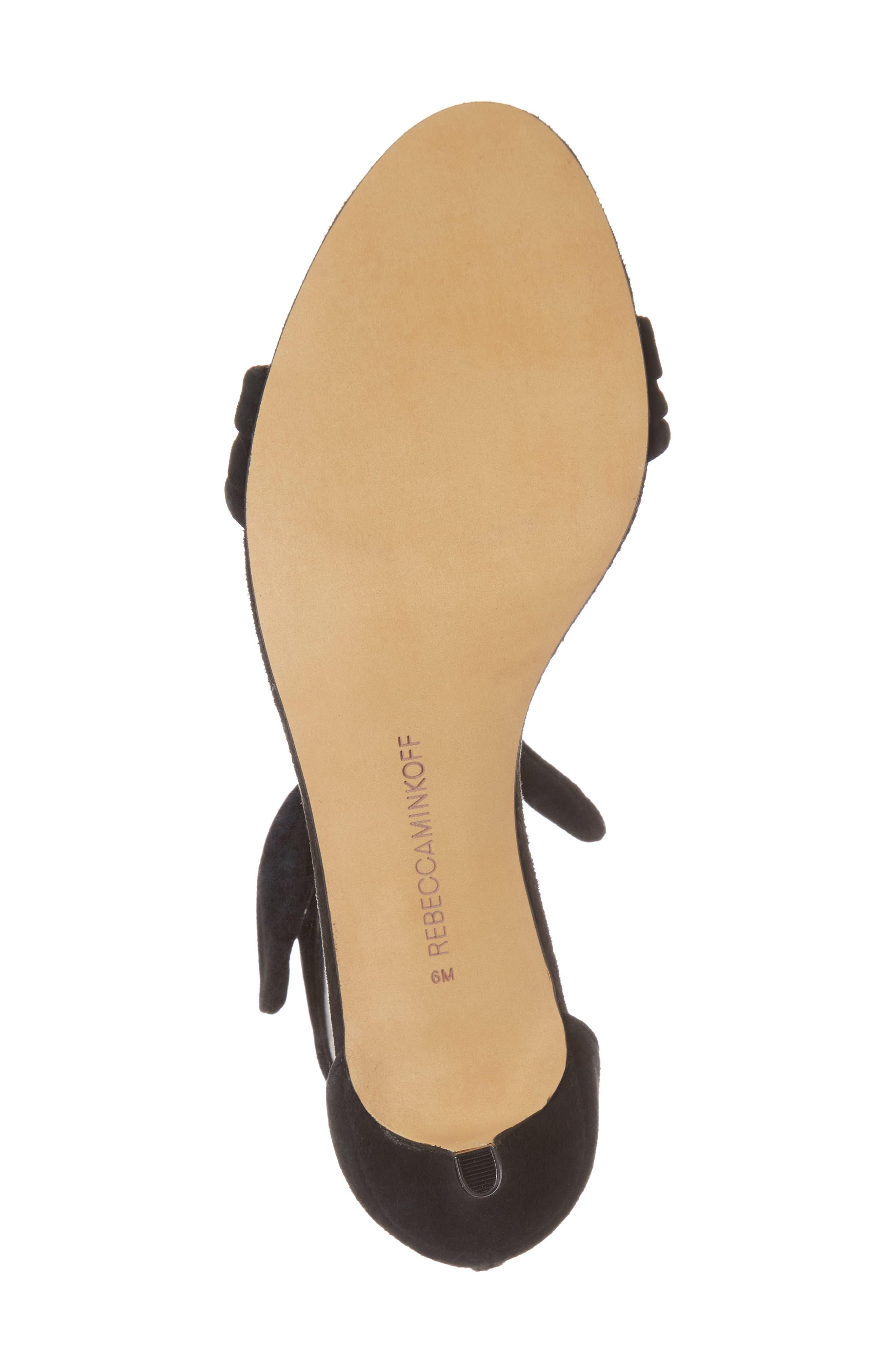 Alternate Image 6  - Rebecca Minkoff Kaley Knotted Kitten Heel Sandal (Women)